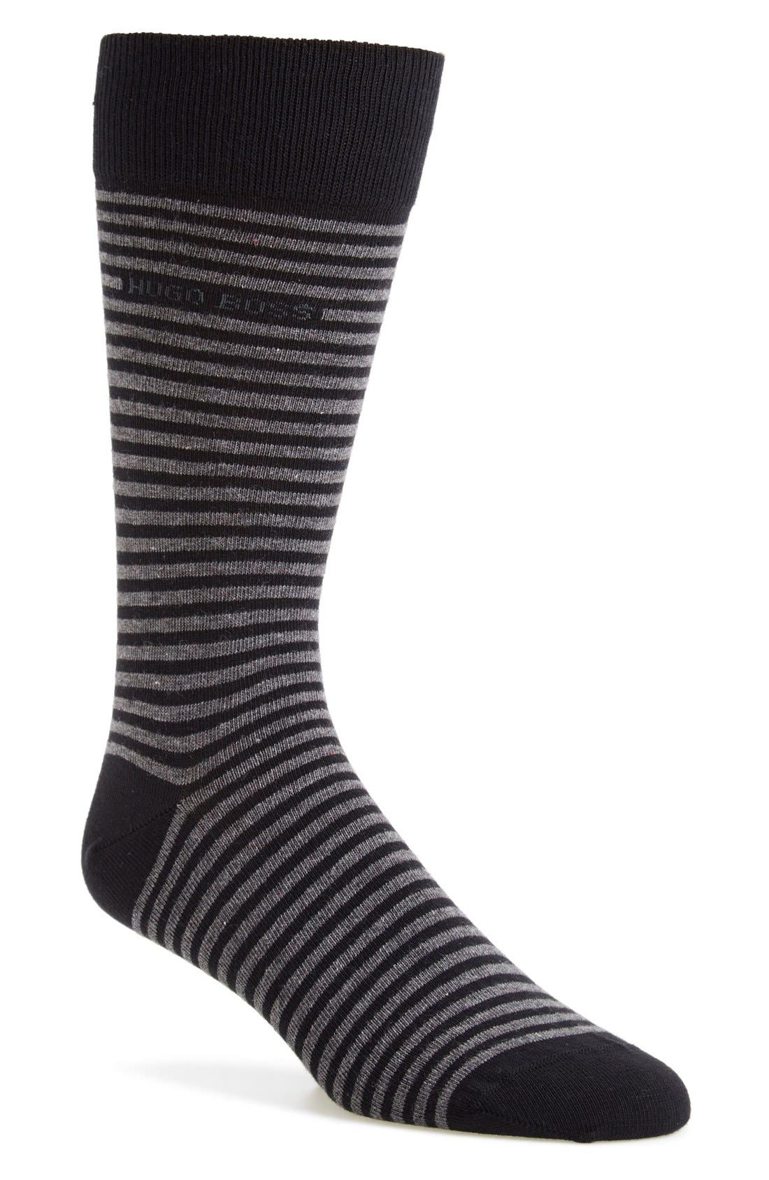 BOSS 'Brian' Stripe Socks