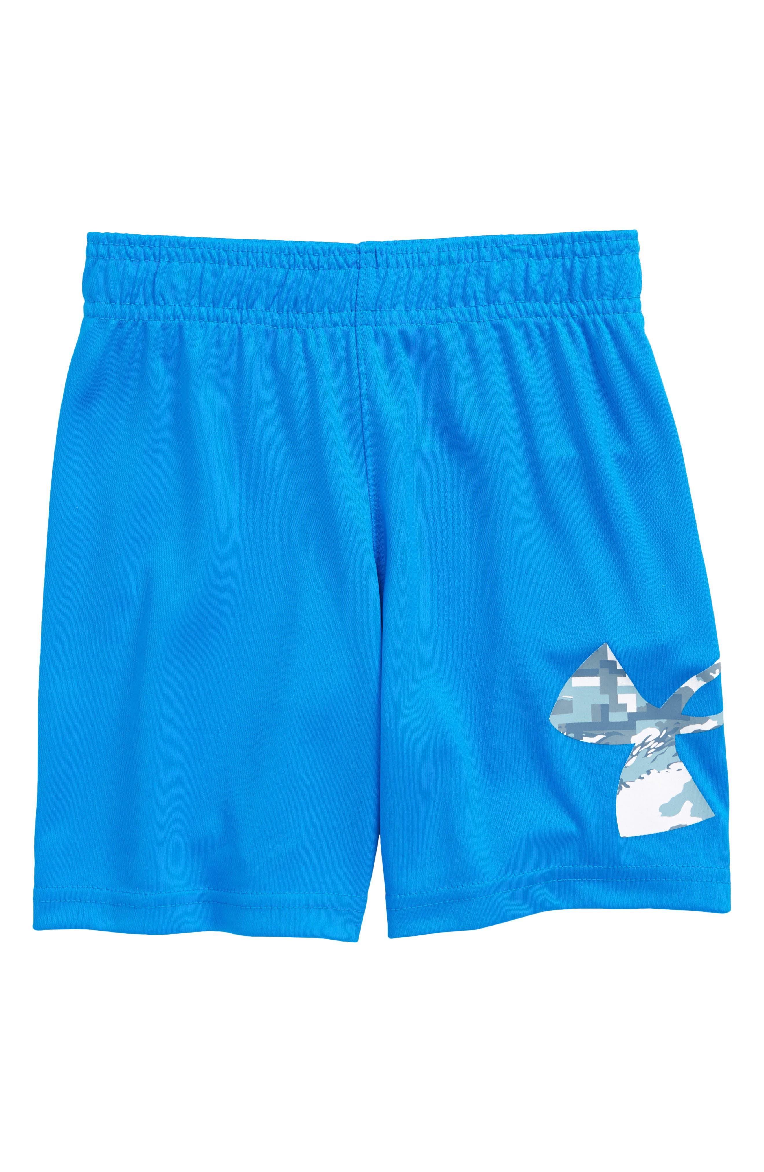Under Armour Baby Girls  Essential Mesh Short Blue