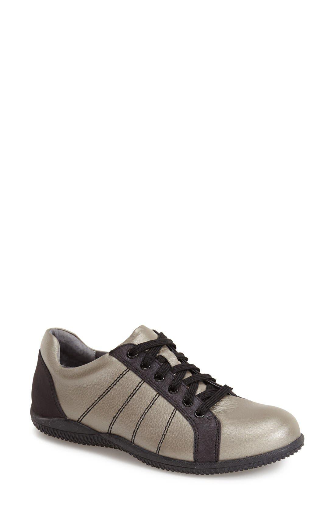 'Hickory' Sneaker,                             Main thumbnail 1, color,                             Silverwash