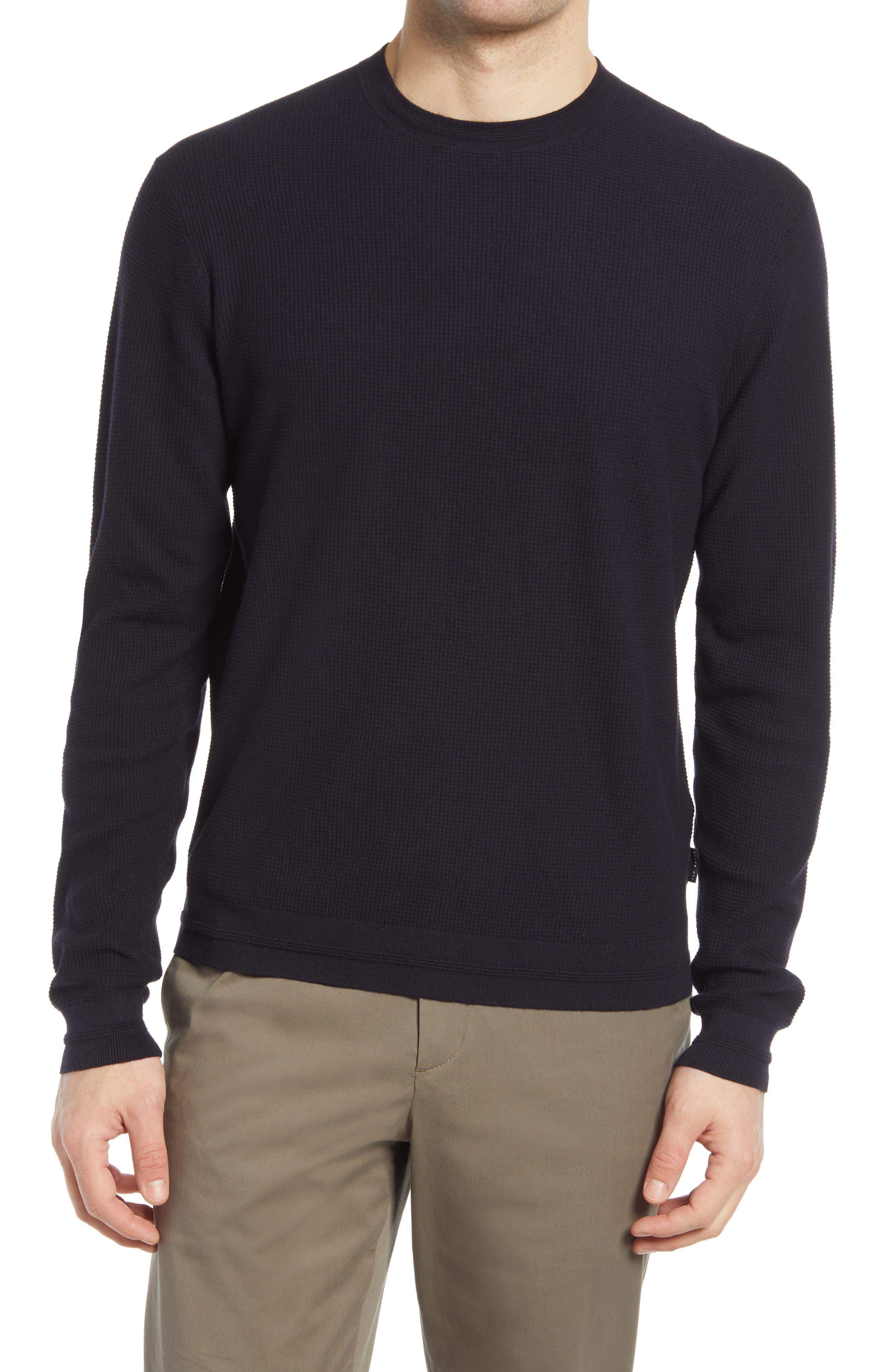 BNWT Ted Baker Mens Jumper Mond Size 6// Size XxLarge Colour Charcoal Grey XXL