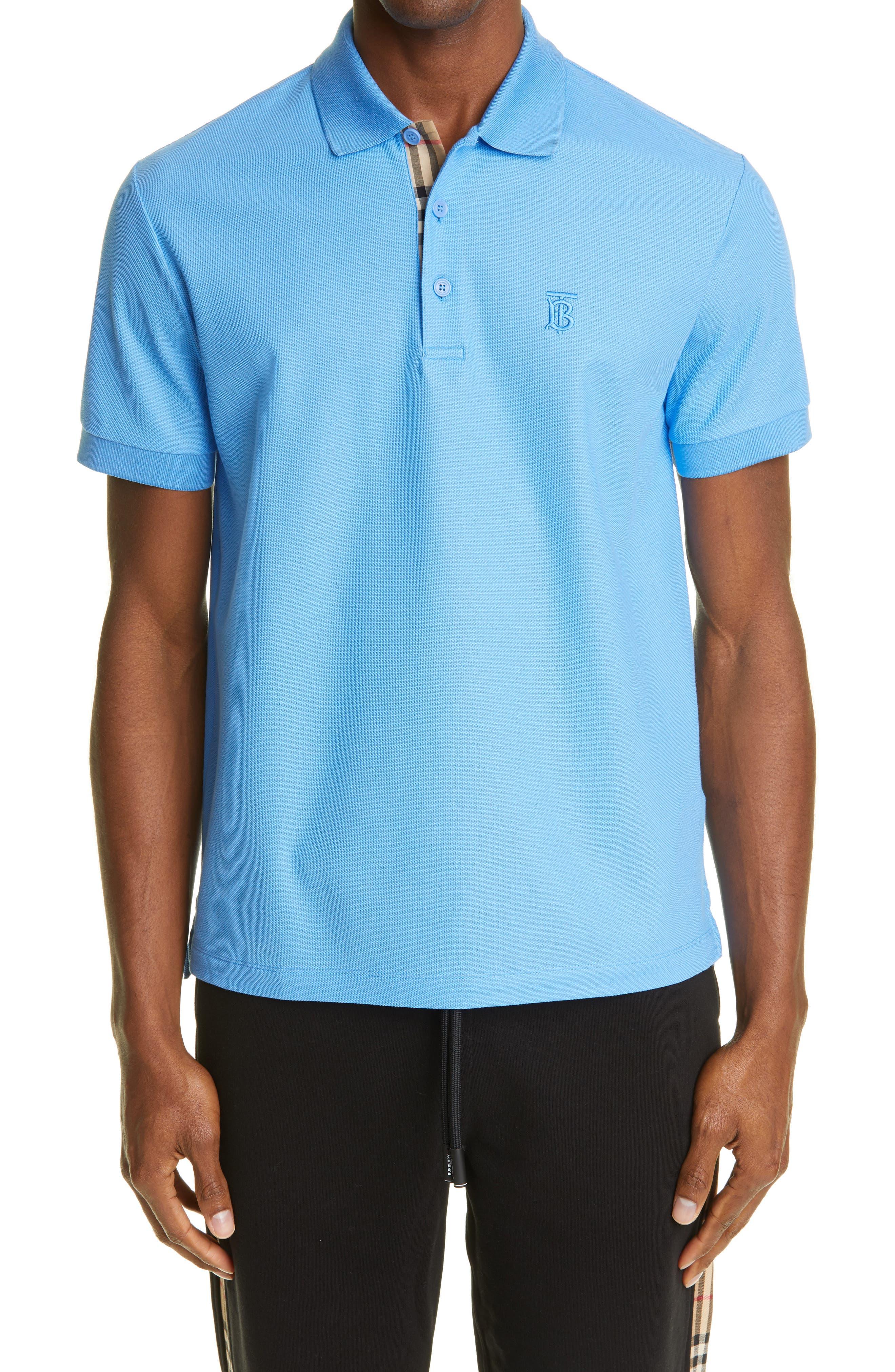 Slim Fit Designer Polo Shirts for Men: Short & Long Sleeves ...