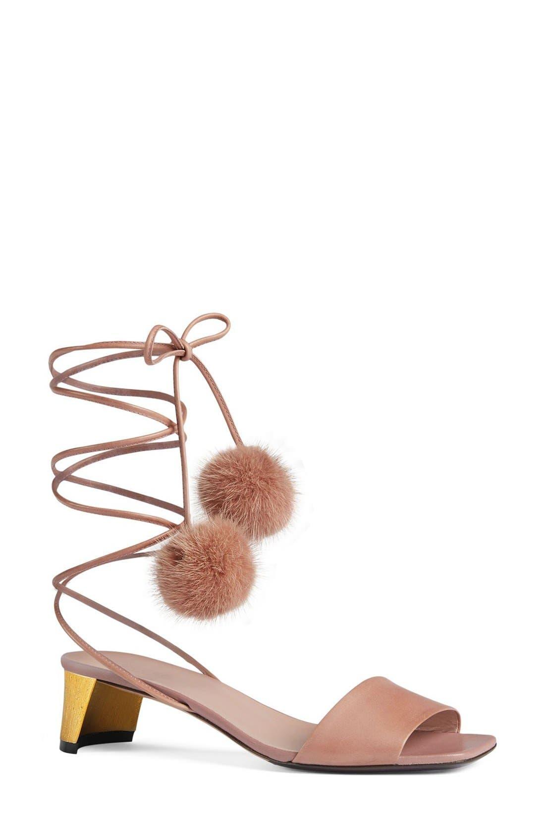 Alternate Image 1 Selected - Gucci 'Heloise' Sandal (Women)
