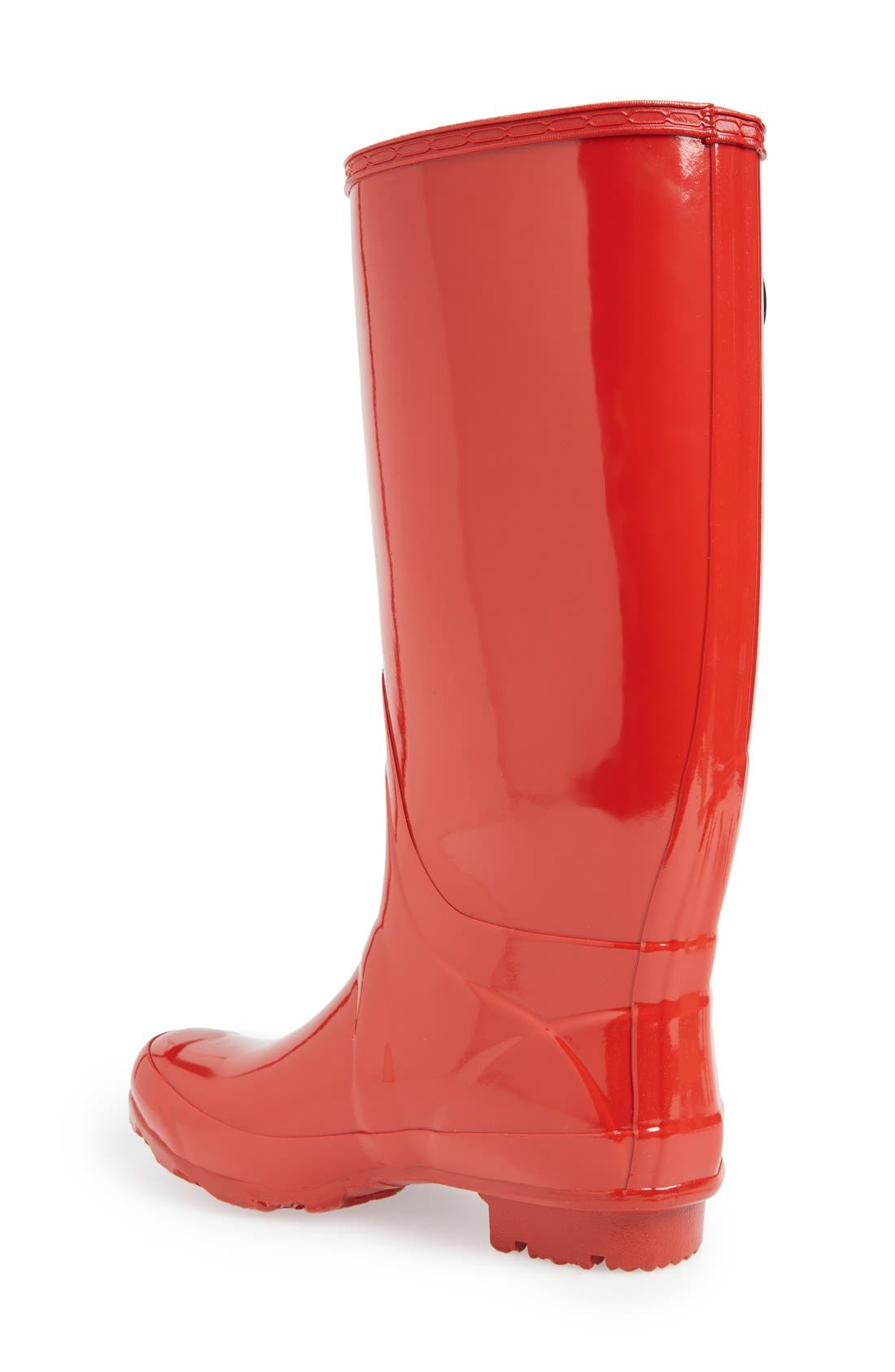 'Huntress' Boot,                             Alternate thumbnail 4, color,                             Red