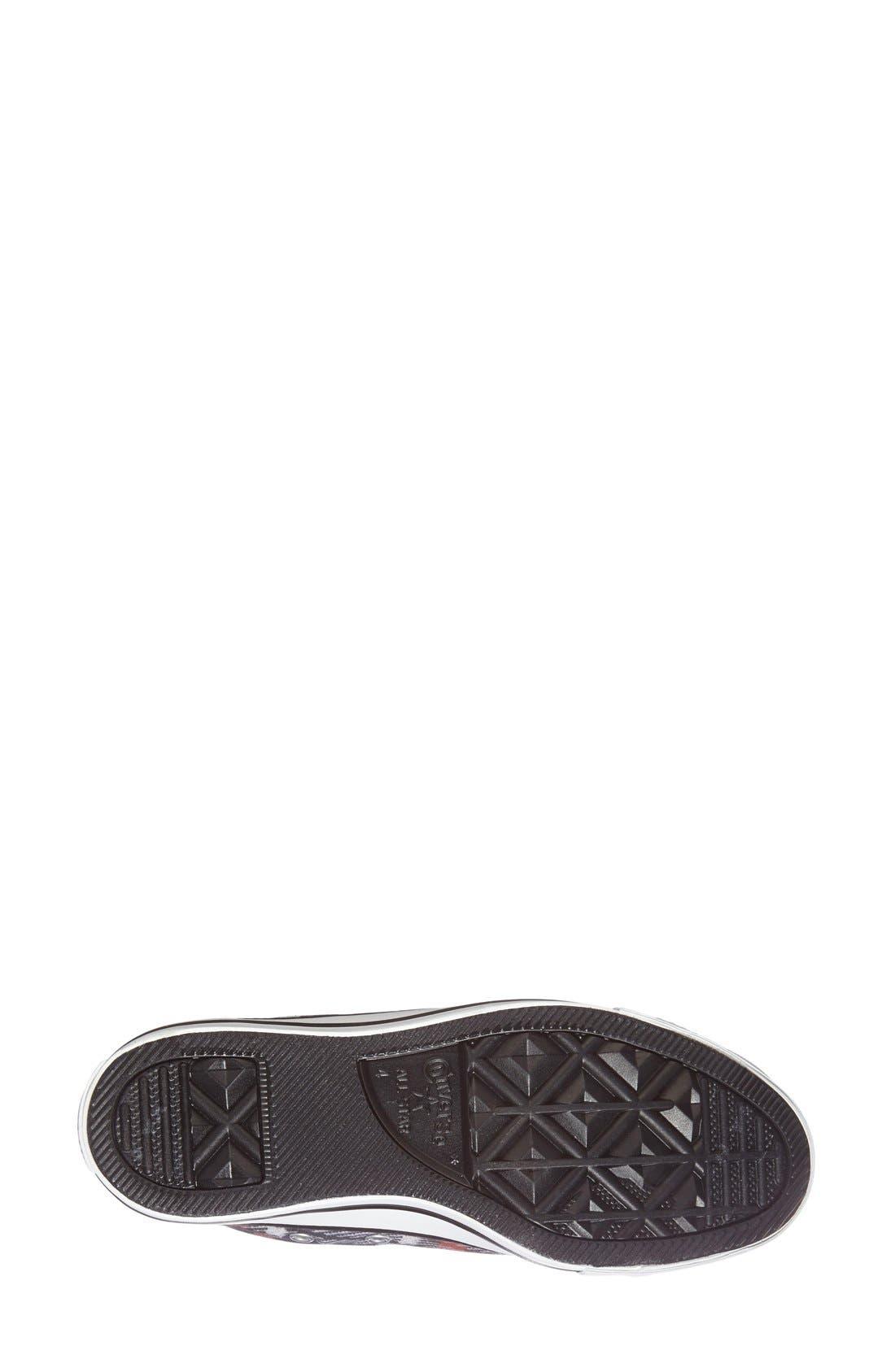 Alternate Image 4  - Converse Chuck Taylor® All Star® Plaid High Top Sneaker (Women)
