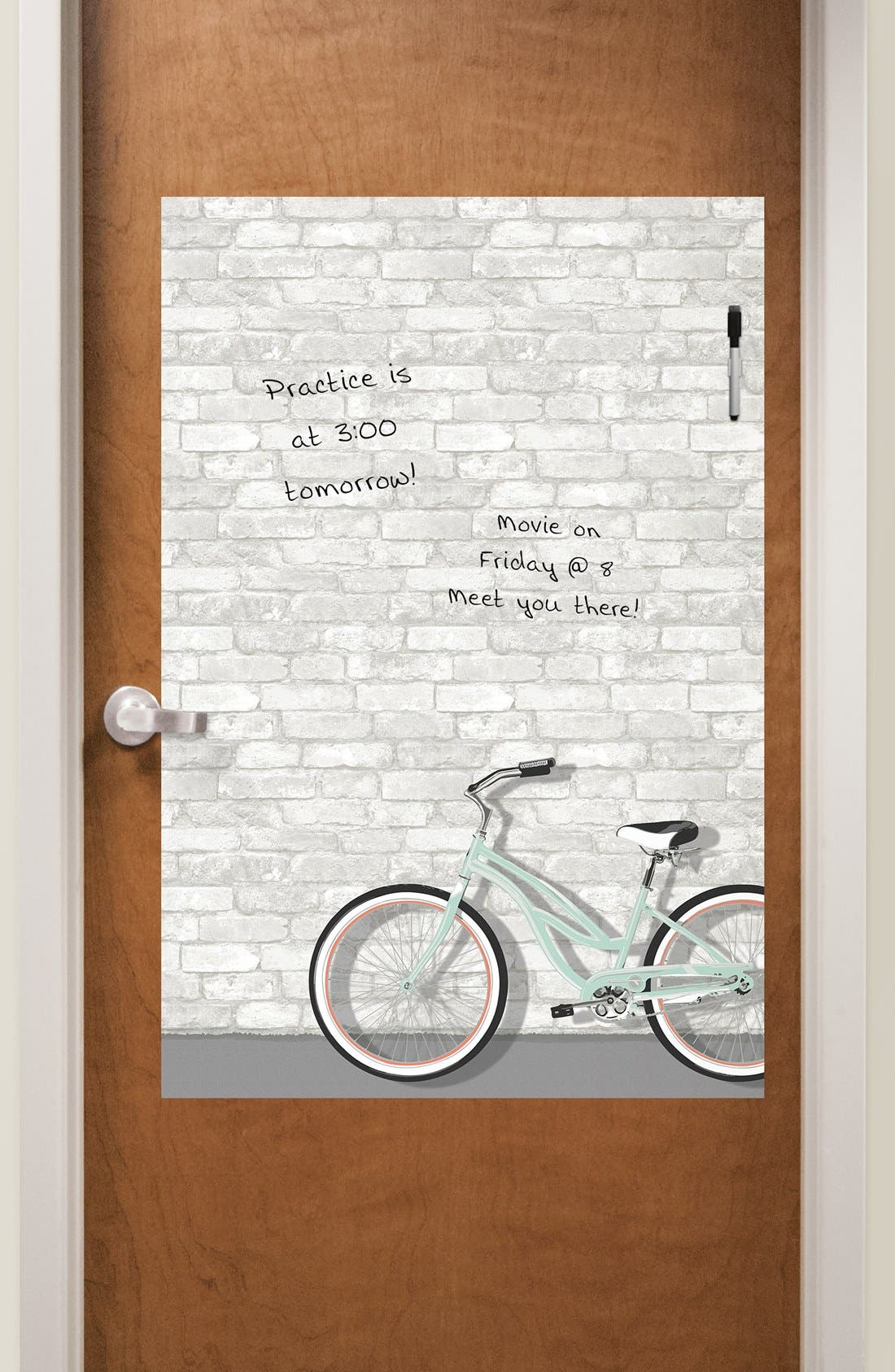 Alternate Image 2  - Wallpops 'Enjoy the Ride' Dry Erase Wall Decal