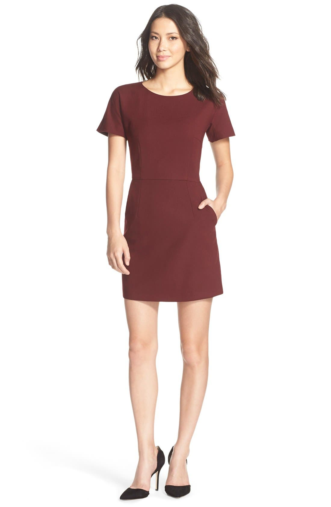 Main Image - French Connection 'Whisper Ruth' Jersey A-Line Dress