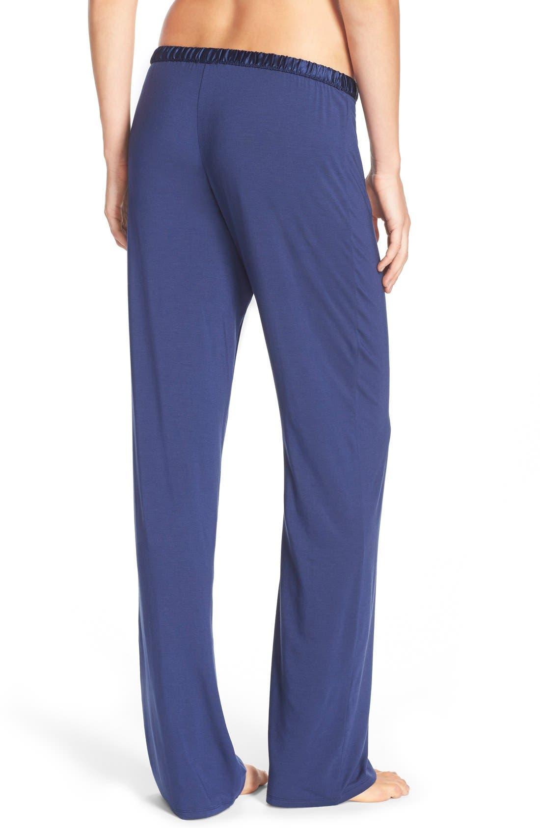 Alternate Image 2  - Calvin Klein 'Essentials' Satin Waist Pajama Pants