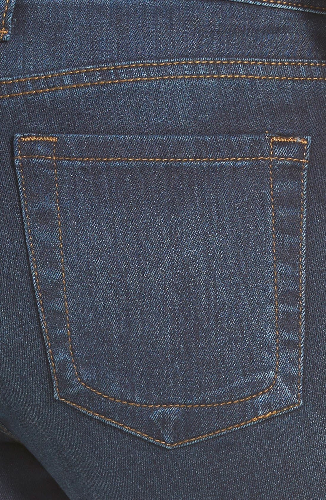 'Diana' Stretch Skinny Jeans,                             Alternate thumbnail 3, color,                             Breezy
