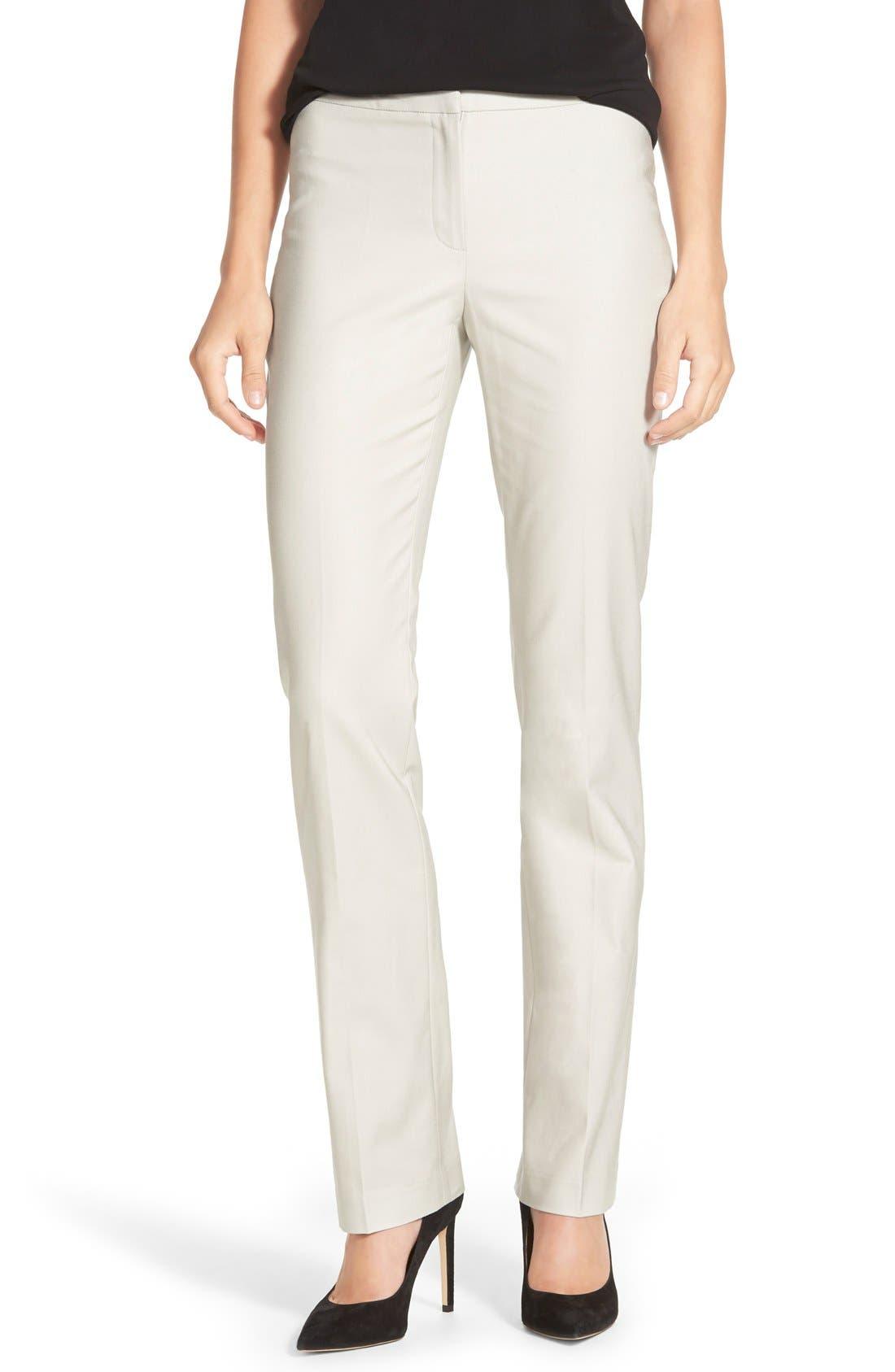 Alternate Image 1 Selected - NIC+ZOE Perfect Pants (Regular & Petite)