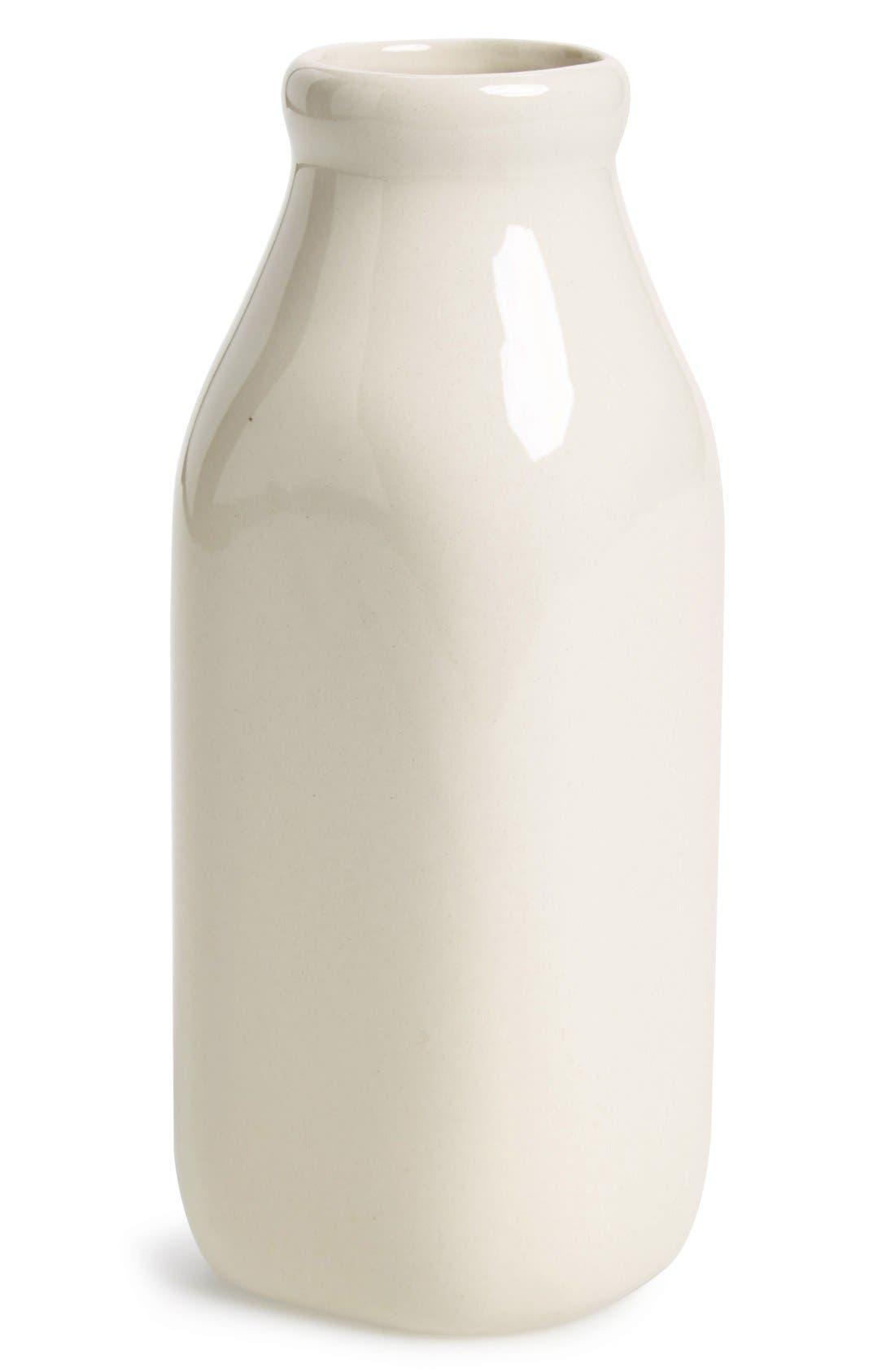 Alternate Image 1 Selected - Fishs Eddy Ceramic Milk Bottle