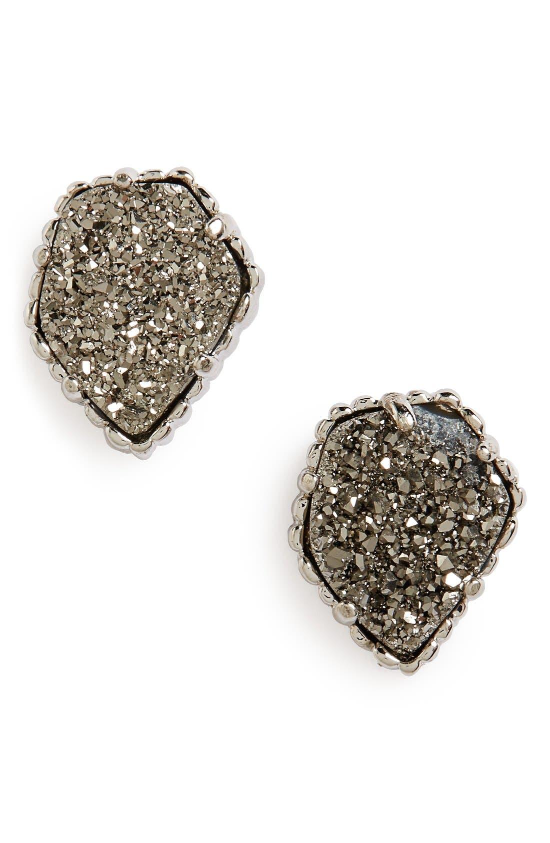 Alternate Image 1 Selected - Kendra Scott Tessa Stone Stud Earrings