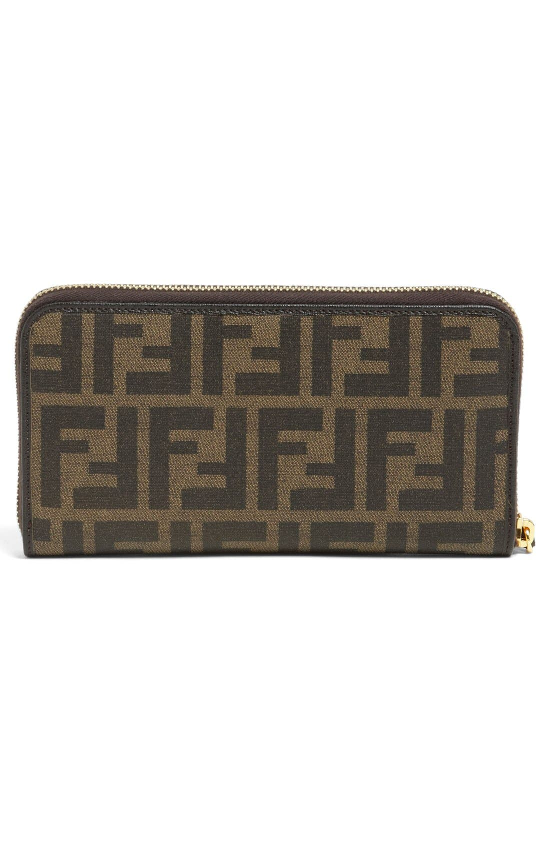Alternate Image 4  - Fendi 'Zucca' Wallet