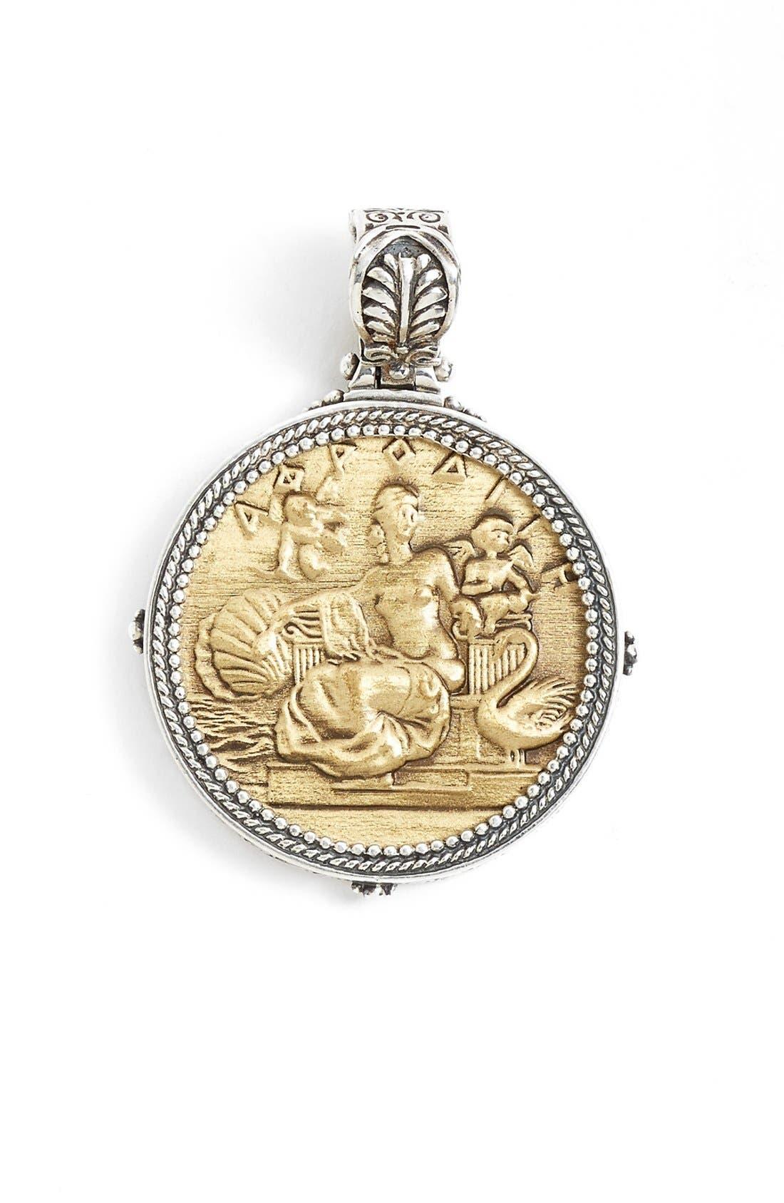 KONSTANTINO Aphrodite Coin Pendant