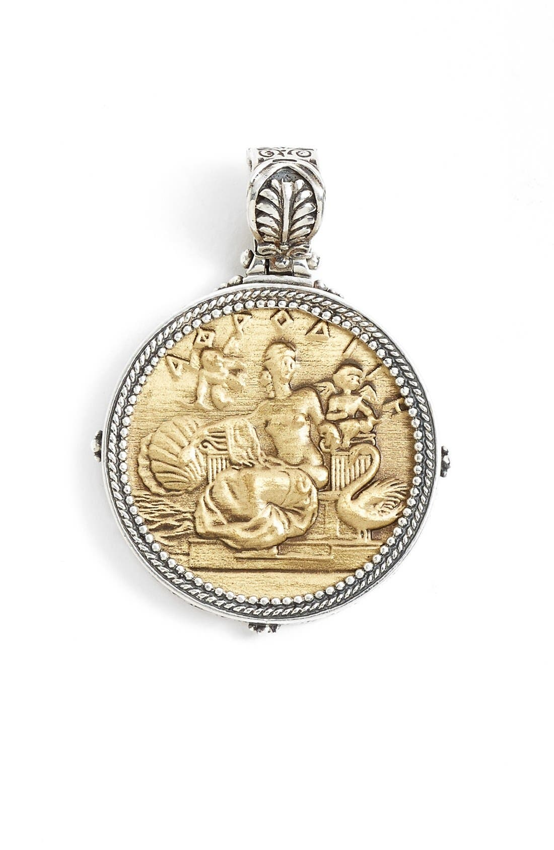 Alternate Image 1 Selected - Konstantino 'Aphrodite' Coin Pendant
