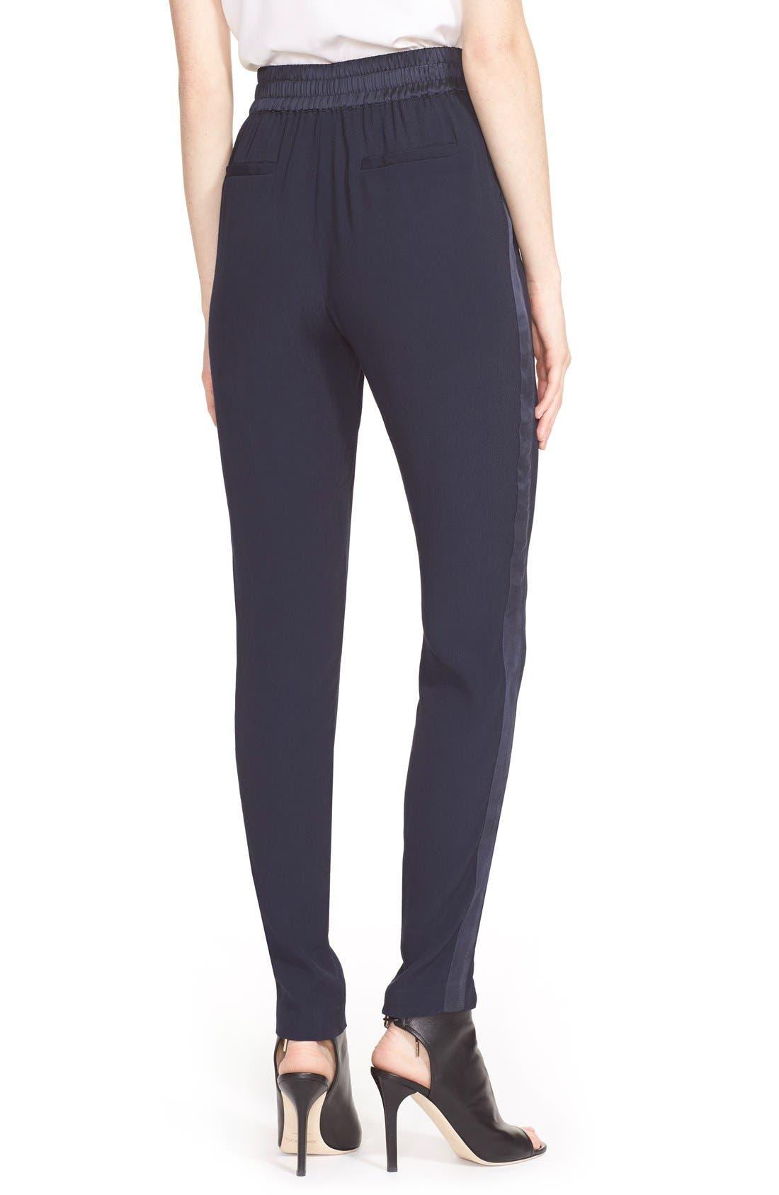 Alternate Image 2  - Rebecca Taylor 'Emma' Side Stripe Pants