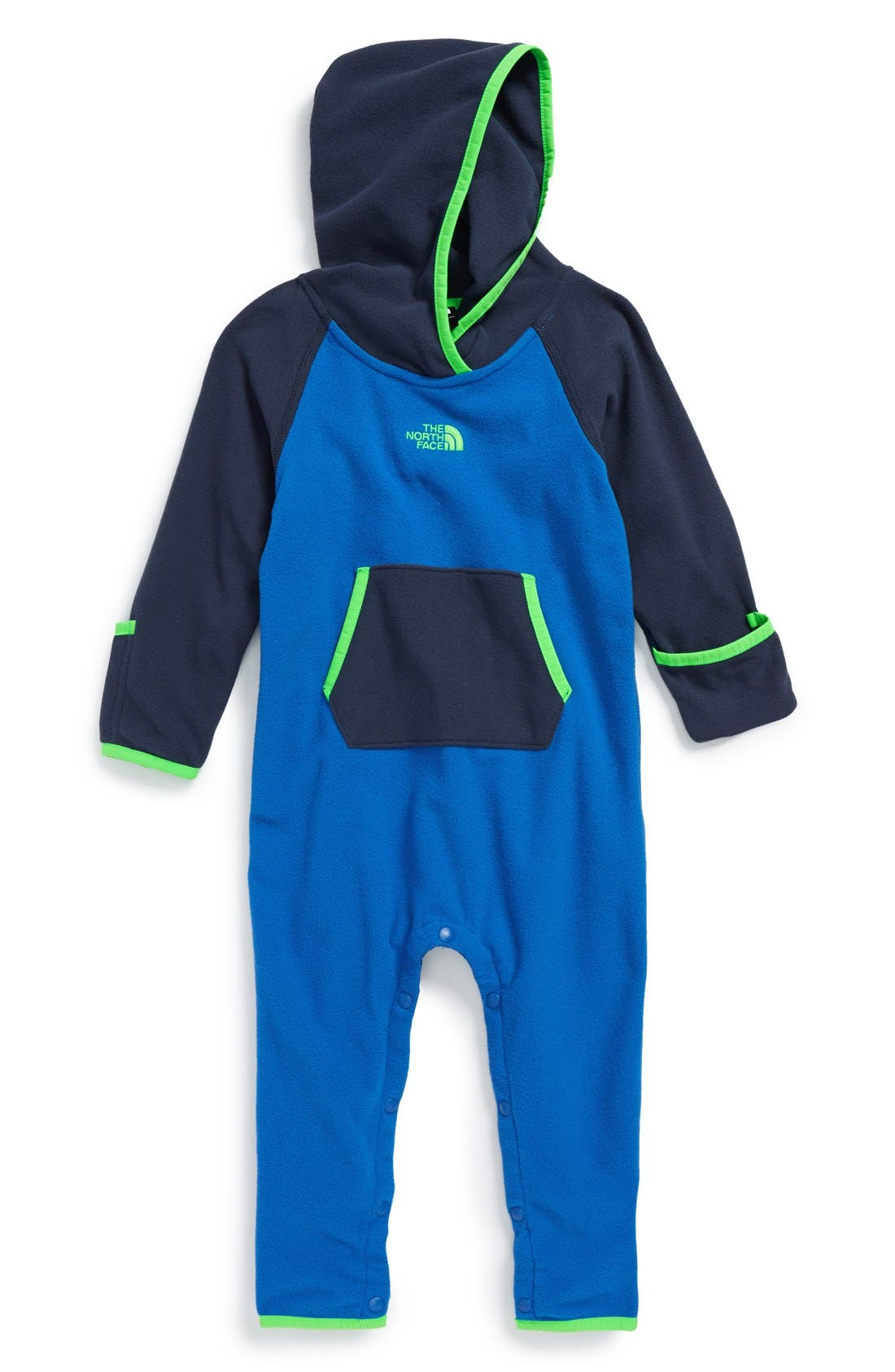 Main Image - The North Face 'Glacier' One-Piece (Baby Boys) (Regular Retail Price: $50.00)