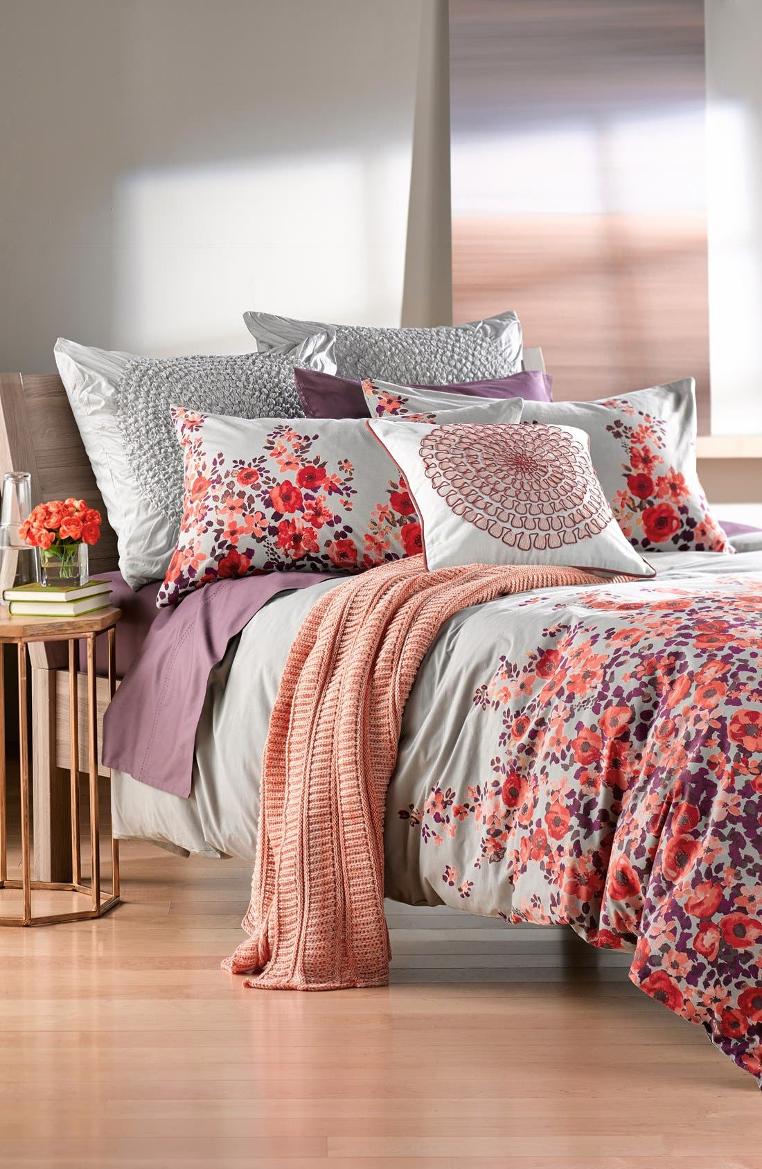 Alternate Image 2  - Nordstrom at Home 'Wallflowers' Duvet Cover