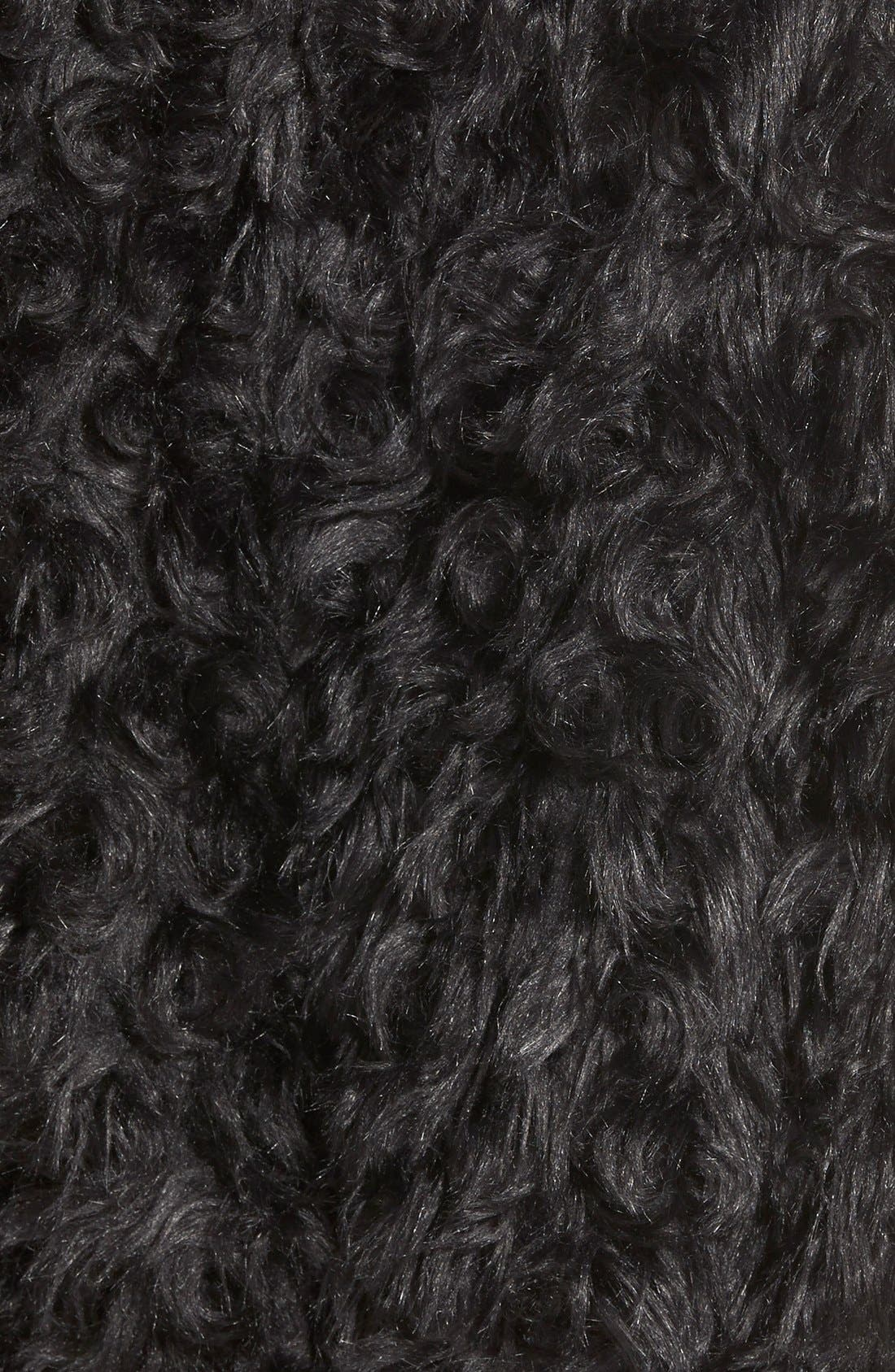 Alternate Image 3  - Dena Products Faux Chinchilla Vest