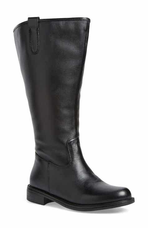 b898a6ba6fb David Tate Best Calfskin Leather   Suede Boot (Extra Wide Calf ...