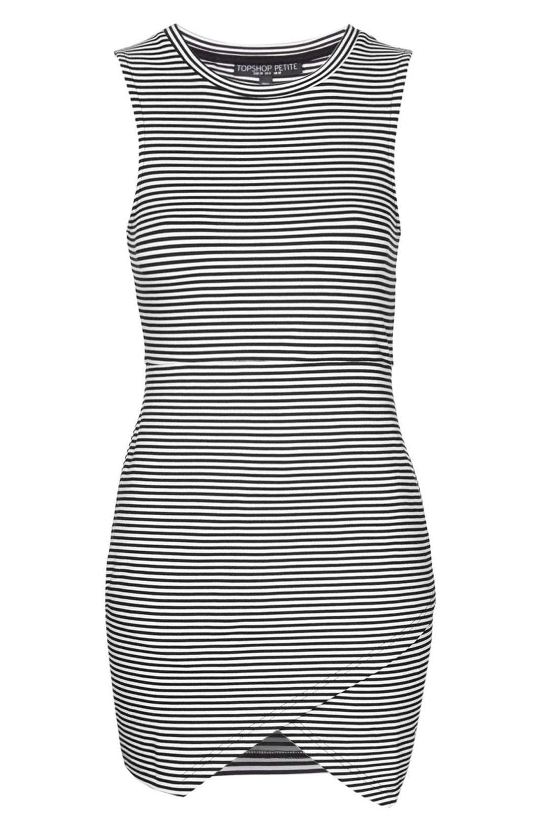 Alternate Image 4  - TopshopStripe Body-Con Dress