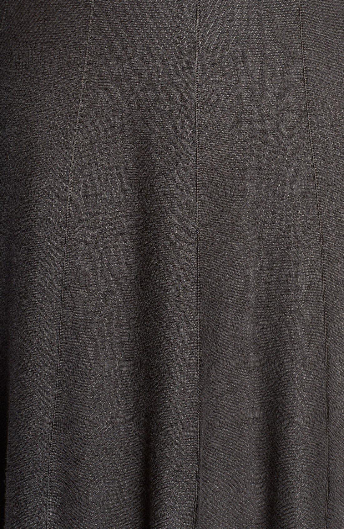 'Twirl Flirt' Paneled Skirt,                             Alternate thumbnail 5, color,                             Mushroom