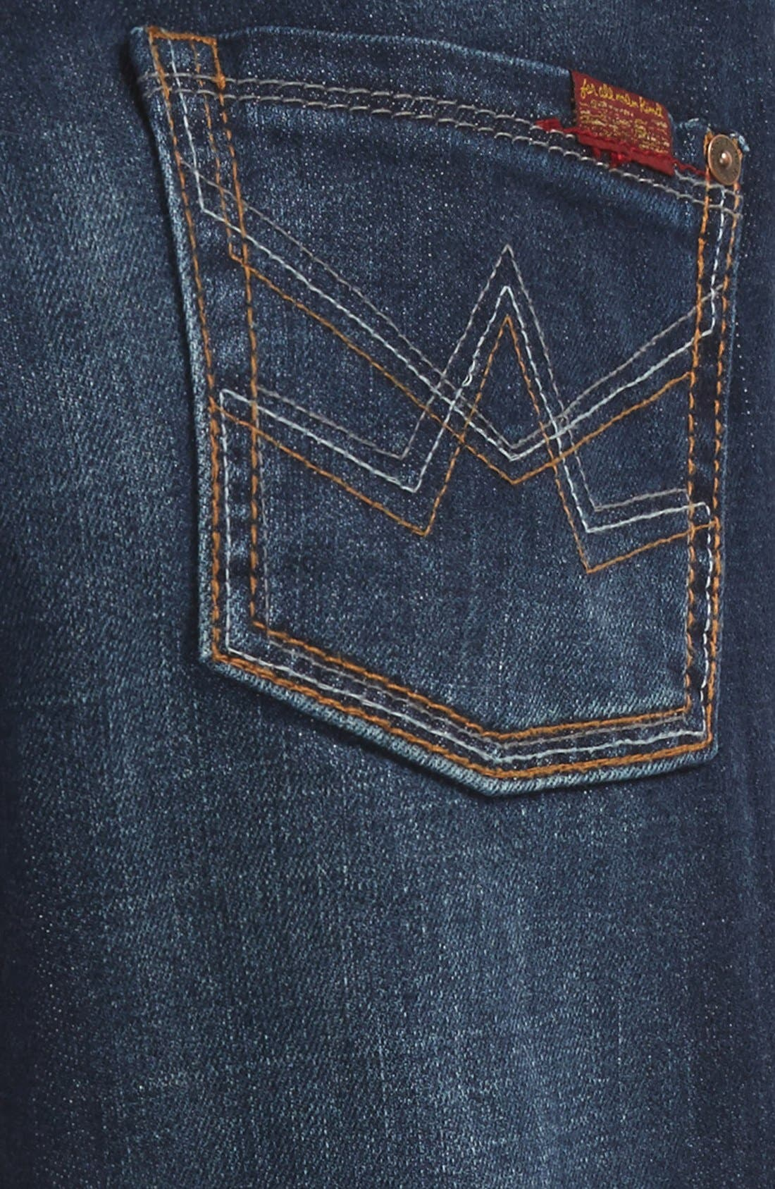 'Slimmy' Jeans,                             Alternate thumbnail 3, color,                             Heritage Blue