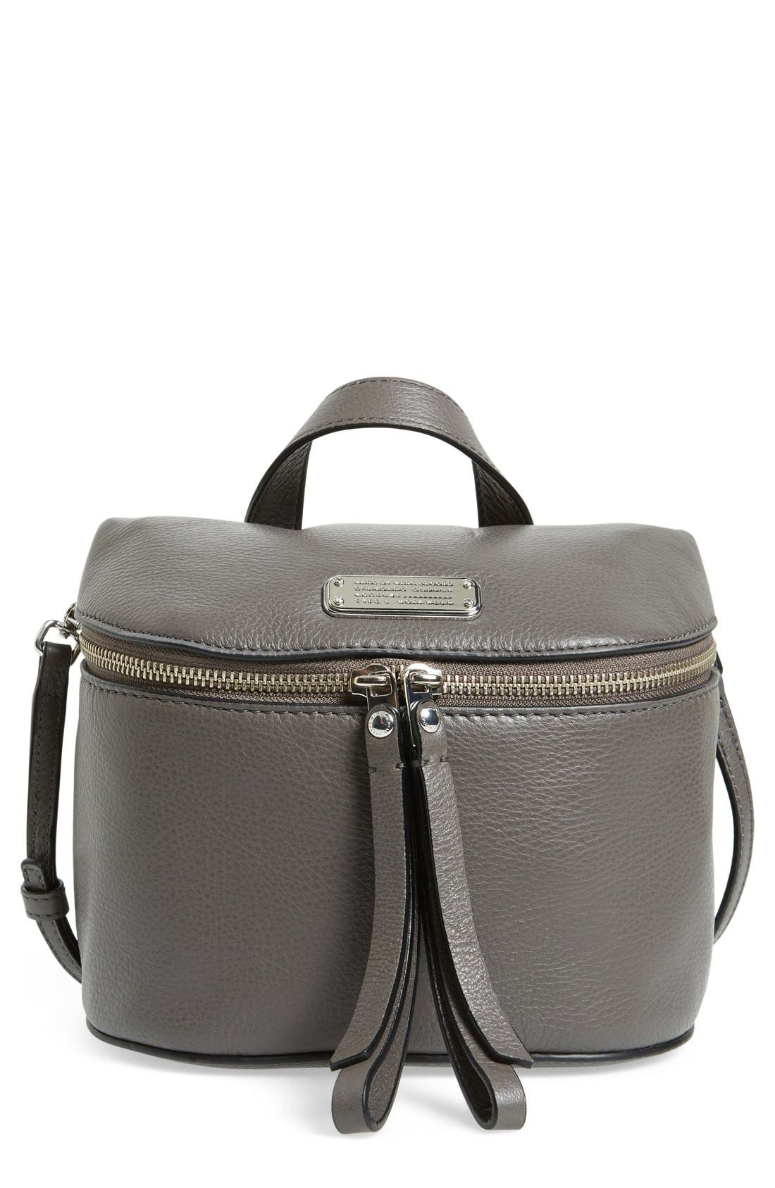 Alternate Image 1 Selected - MARC BY MARC JACOBS 'Canteen' Leather Crossbody Bag