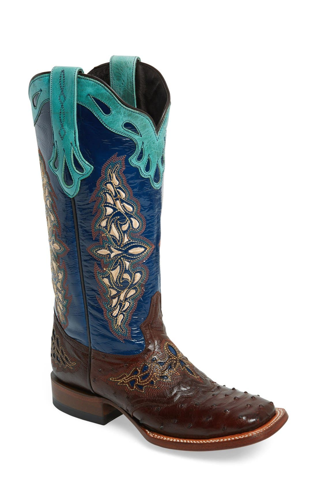 Alternate Image 1 Selected - LuccheseWestern Square ToeBoot (Women)