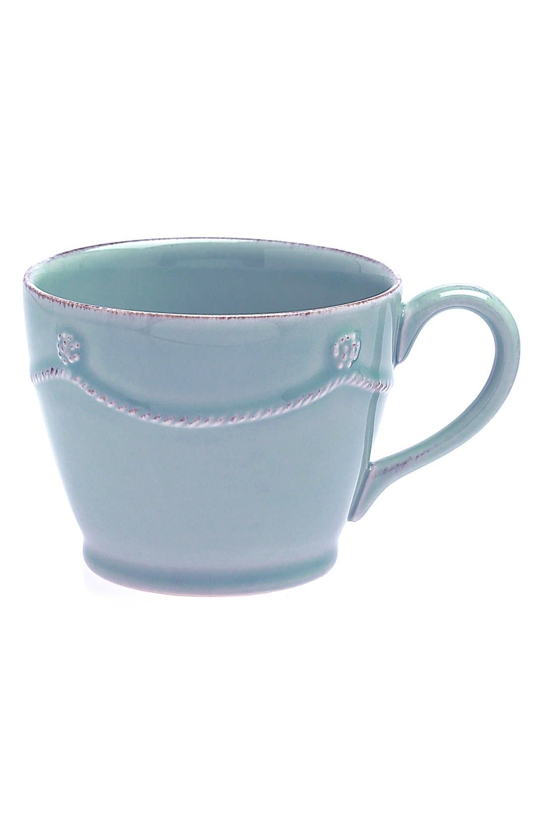 'Berry and Thread' Tea & Coffee Cup,                         Main,                         color, Ice Blue