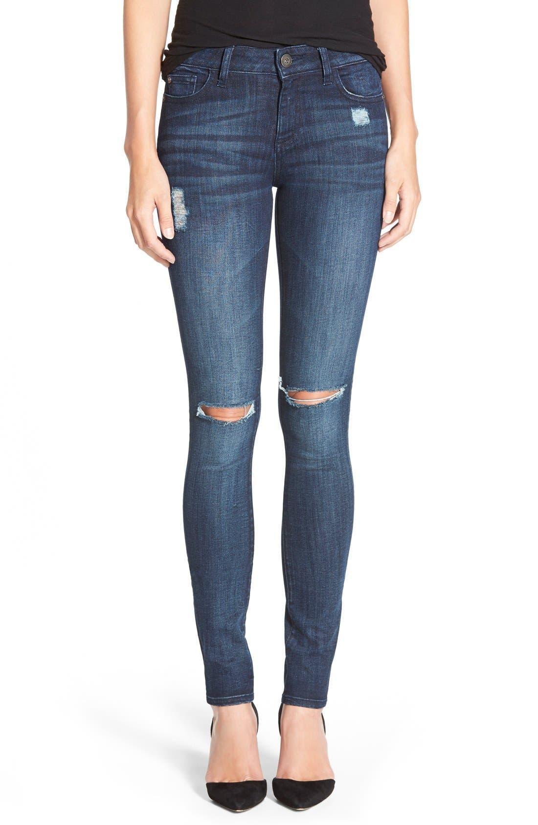 Alternate Image 1 Selected - DL1961 'Florence' InstasculptSkinny Jeans (Vortex)