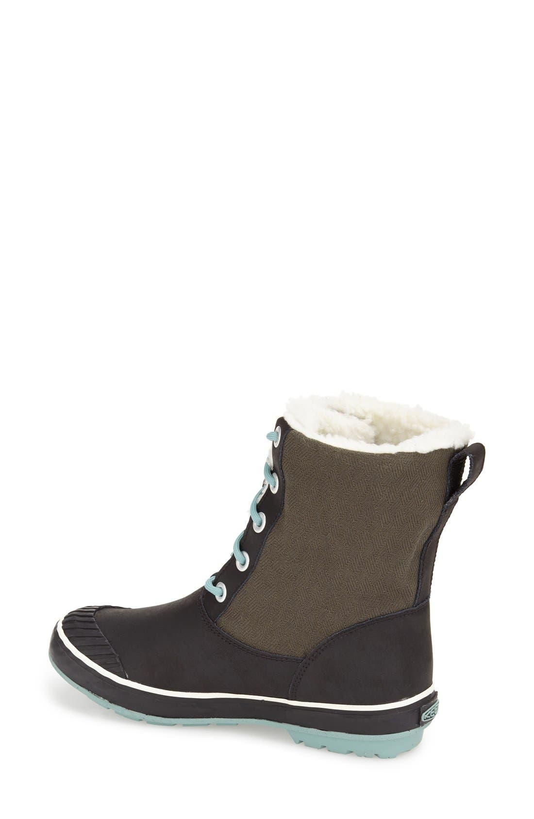 'Elsa' Waterproof Boot,                             Alternate thumbnail 2, color,                             Forset Night