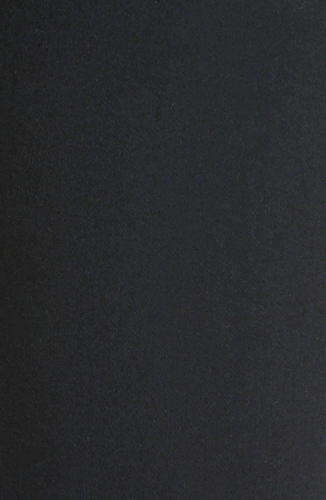 Transcend - Verdugo Ankle Ultra Skinny Jeans,                             Alternate thumbnail 5, color,                             Black Shadow