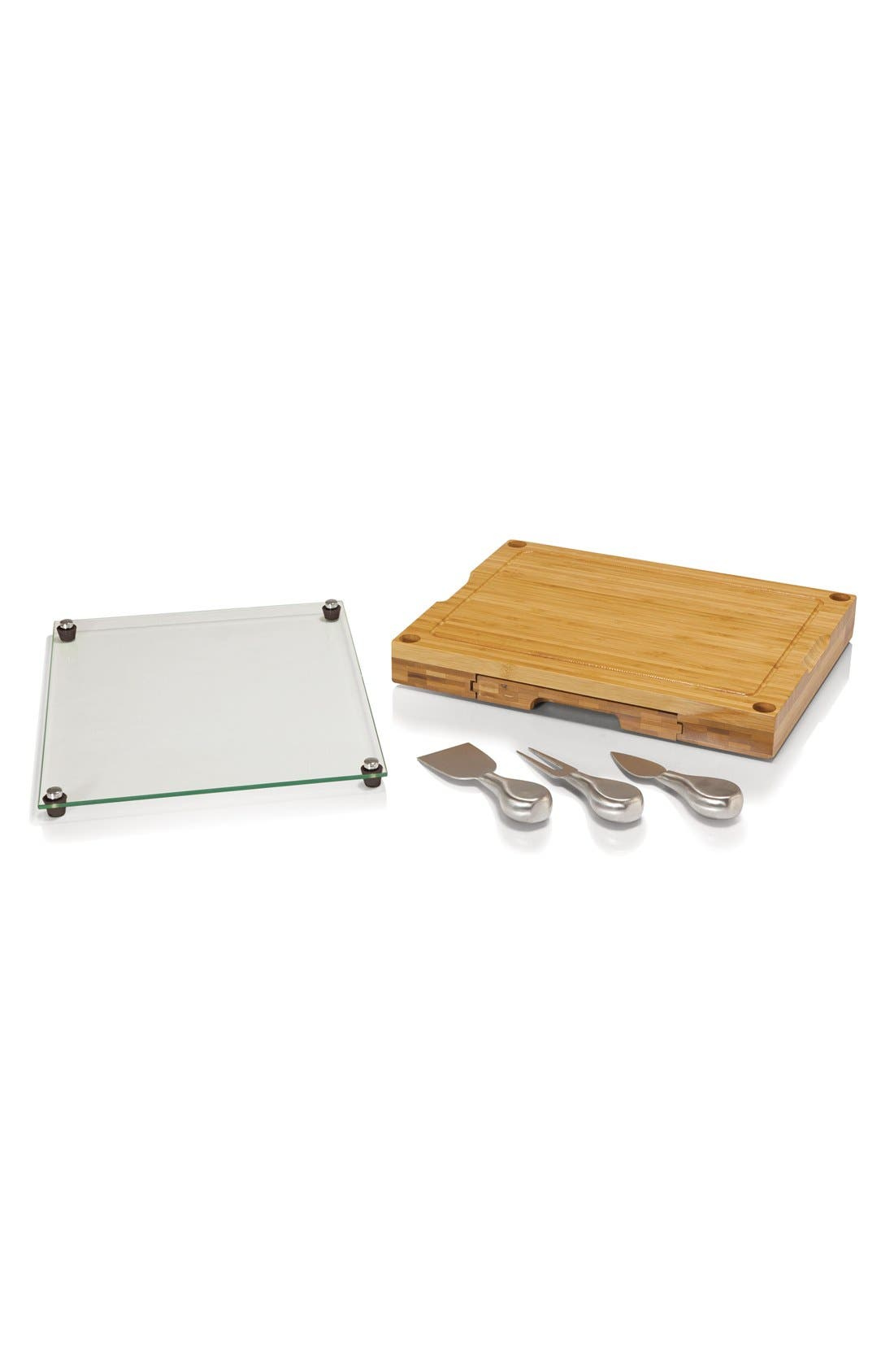 'Concerto' Cutting Board Set,                         Main,                         color, Brown