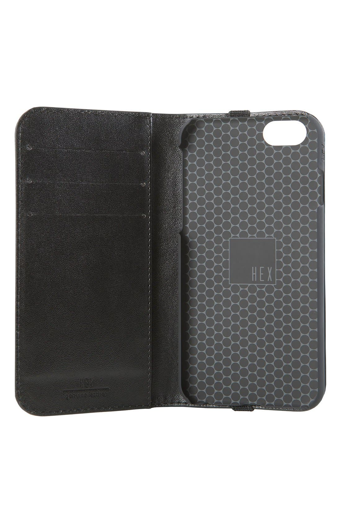 Alternate Image 3  - HEX Icon iPhone 6/6s Wallet Case