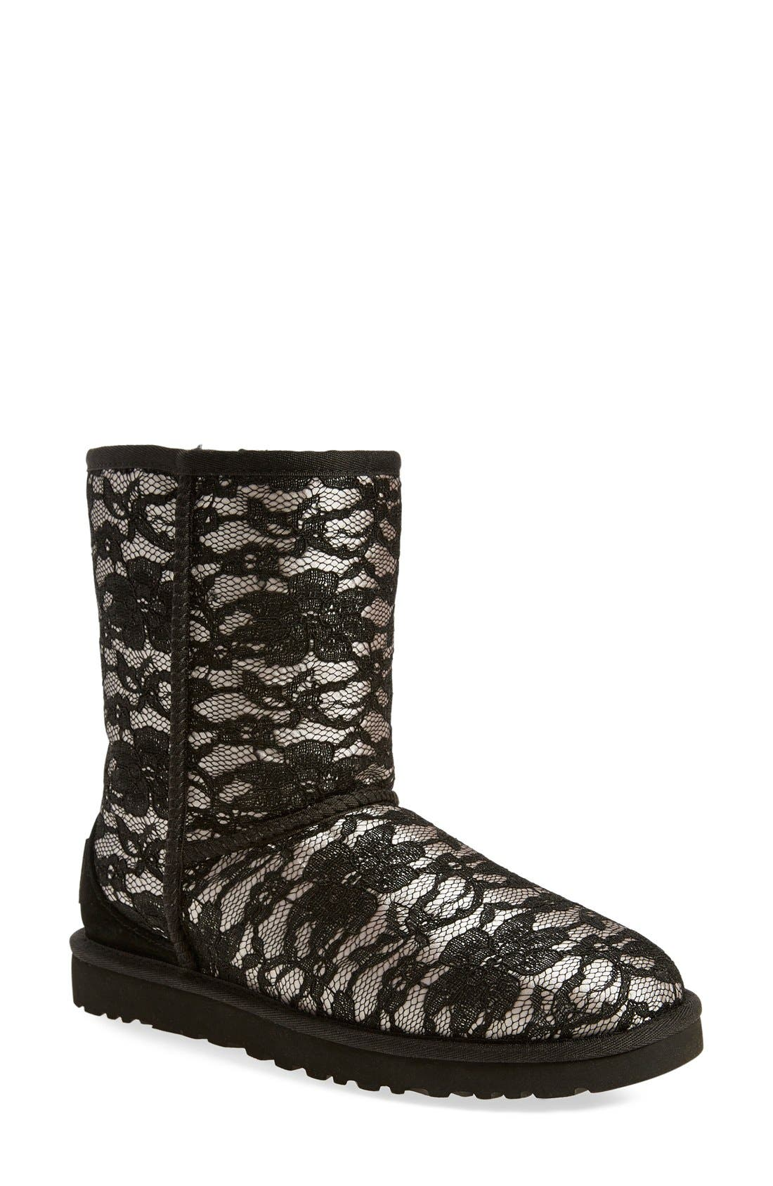 Alternate Image 1 Selected - UGG® 'Classic Short Antoinette' Boot (Women)