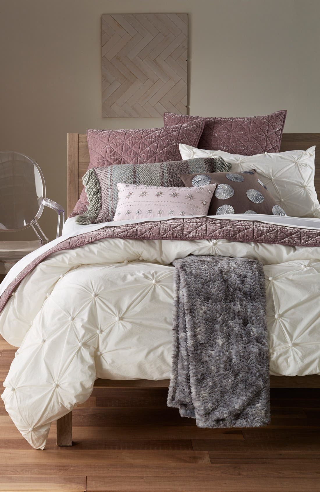 Alternate Image 4  - Nordstrom at Home 'Gem Stripes' Accent Pillow