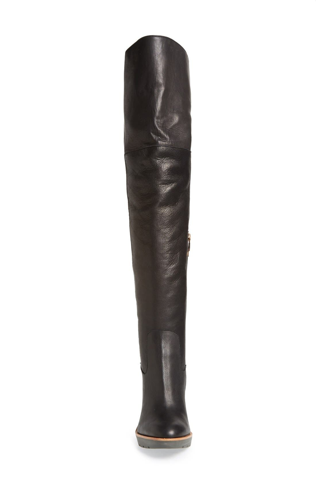 Alternate Image 3  - kate spade new york 'gabby' genuine shearling lined over the knee boot (Women)