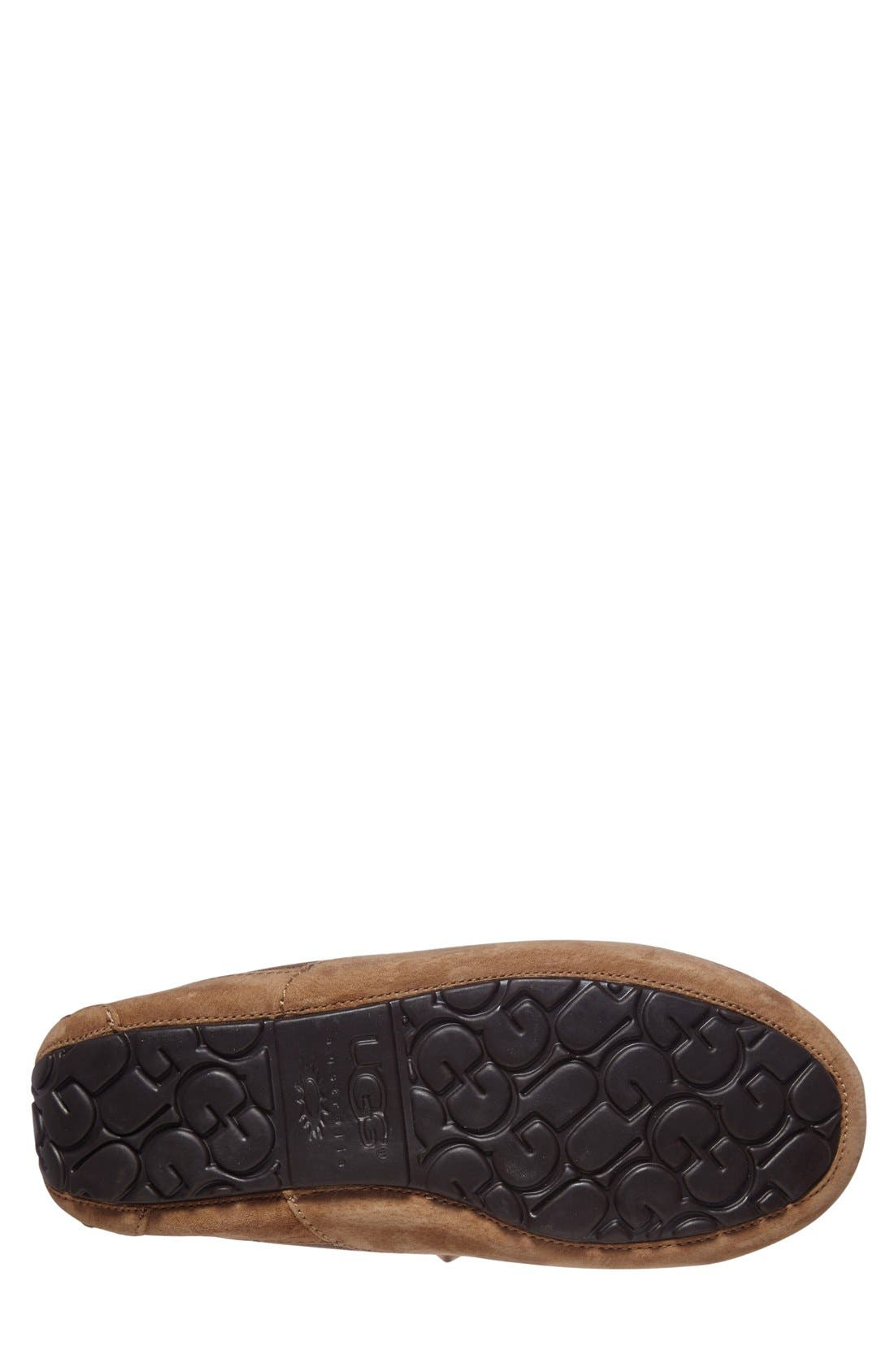 Alternate Image 4  - UGG® Ascot Bomber Slipper (Men)