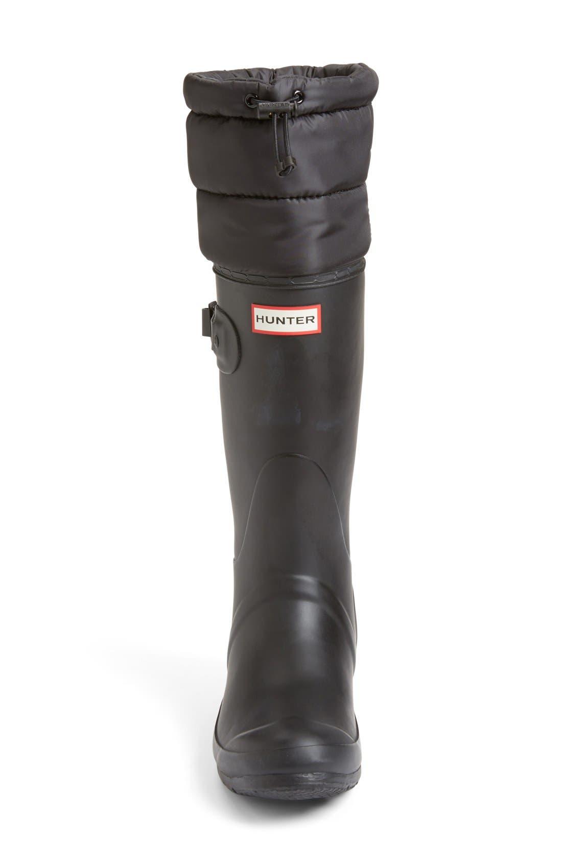 Alternate Image 3  - Hunter 'Original - Quilted Cuff' Rain Boot (Women)
