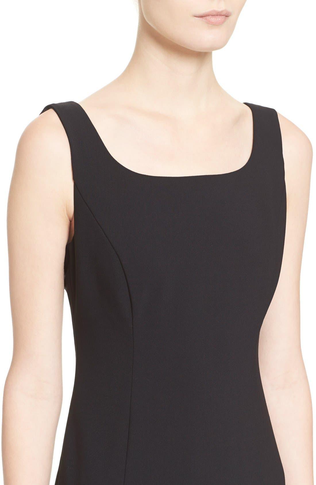 Alternate Image 6  - Armani Collezioni Featherweight Wool Dress
