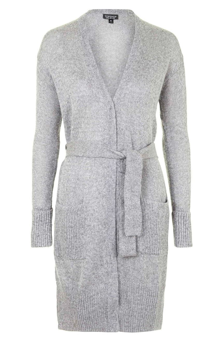 beaf4d3f52 Evie Waterfall Belted Cardigan. Hover to zoom. Topshop  Lulu  Belted  Longline Cardigan