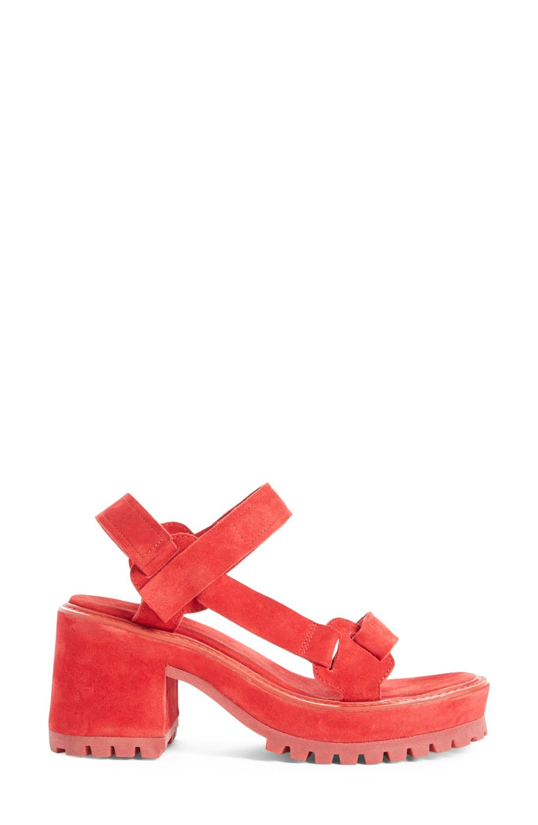 Alternate Image 4  - Marques'Almeida Chunky Heel Sandal (Women)