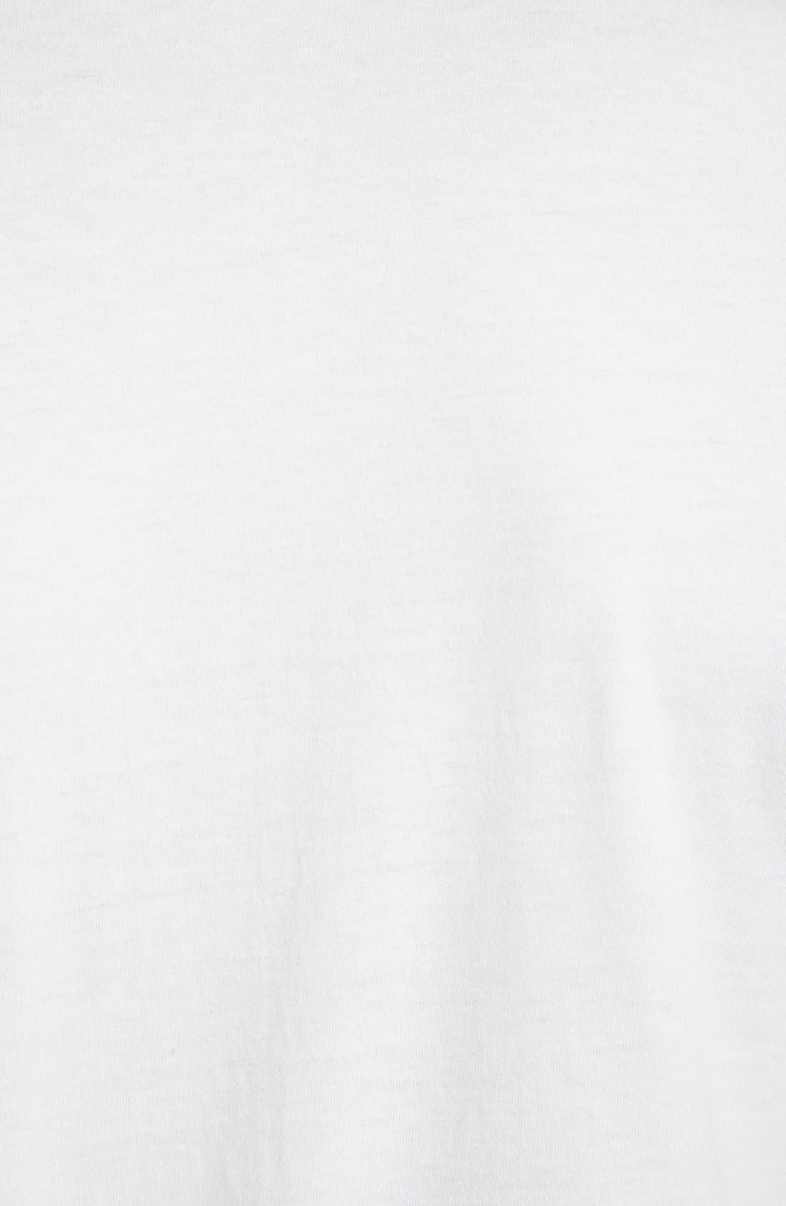 2-Pack Cotton T-Shirt,                             Alternate thumbnail 4, color,                             White