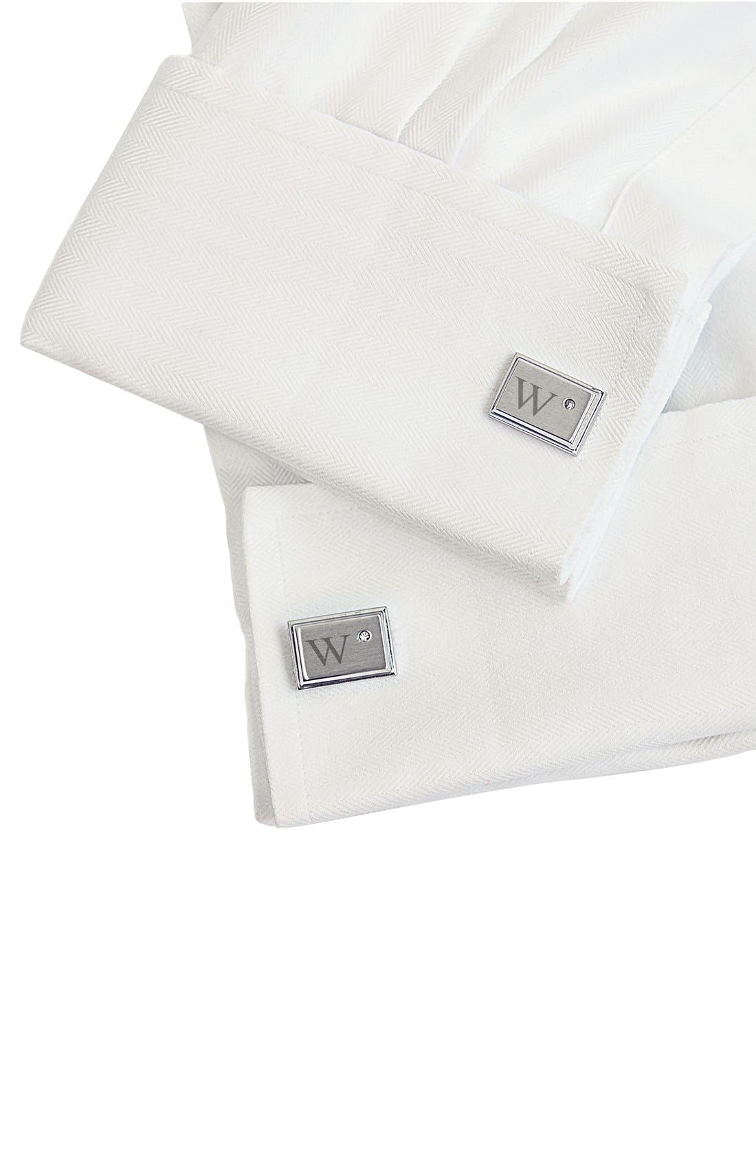 Alternate Image 2  - Cathy's Concepts Monogram Cuff Links