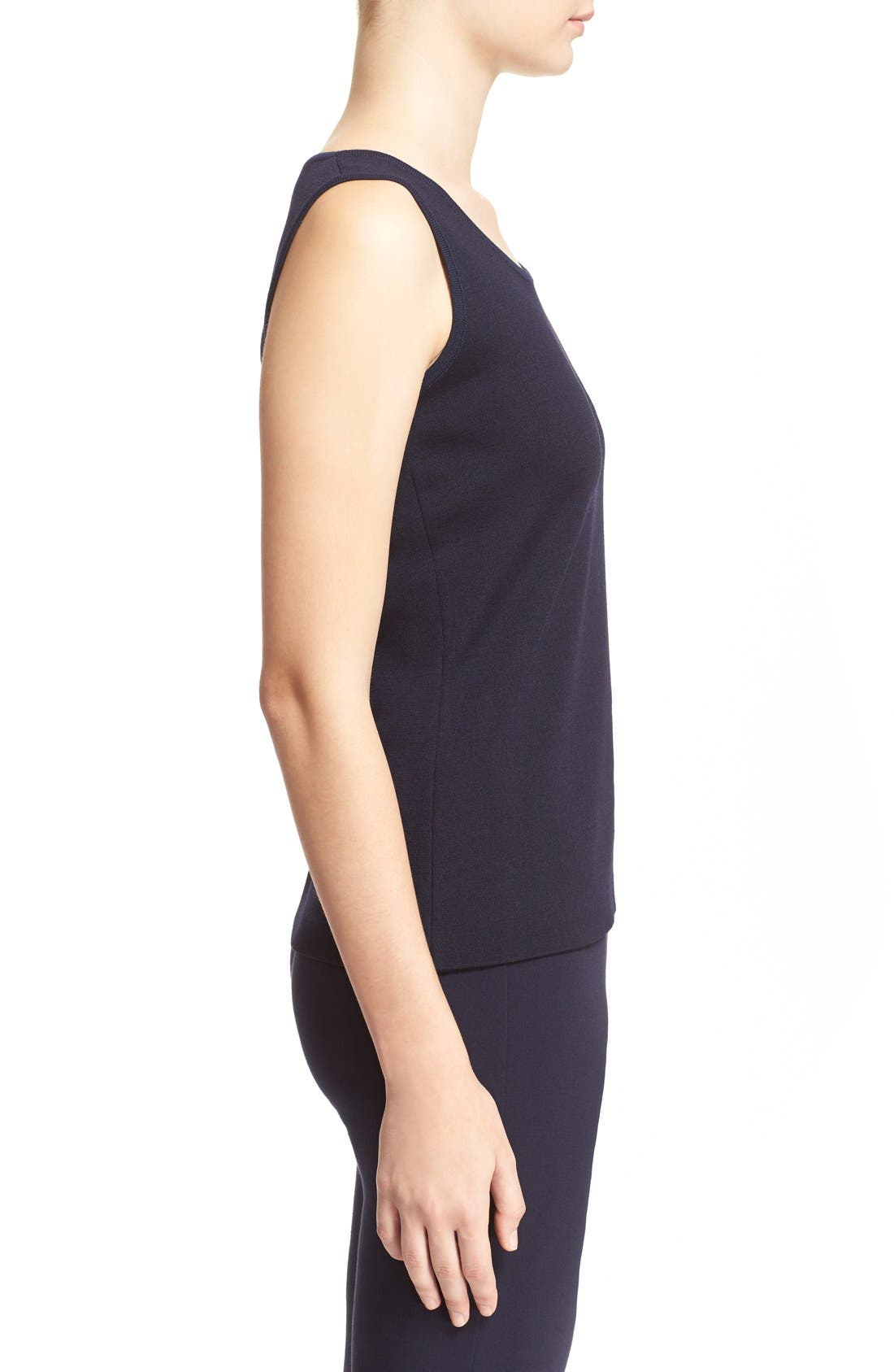 Alternate Image 3  - St. John Collection Milano Knit Tank