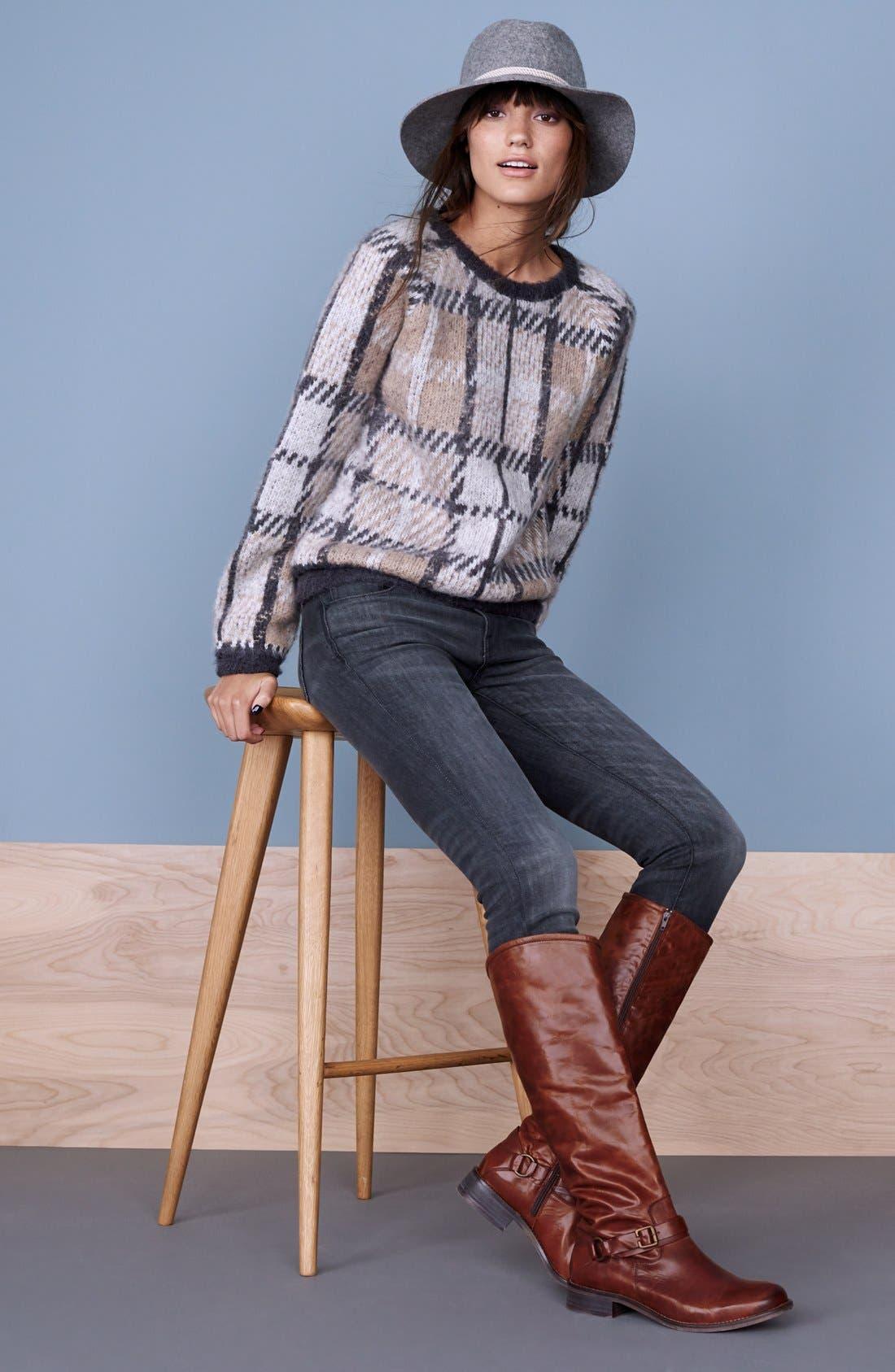 Alternate Image 5  - Hinge 'Dakotah' Knee High Riding Boot (Women)