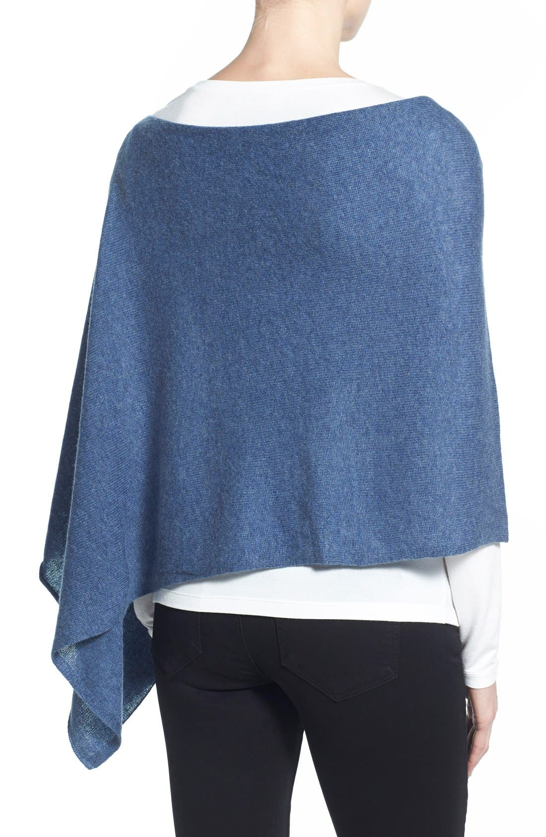 Alternate Image 2  - Tees by Tina Cashmere Maternity Cape