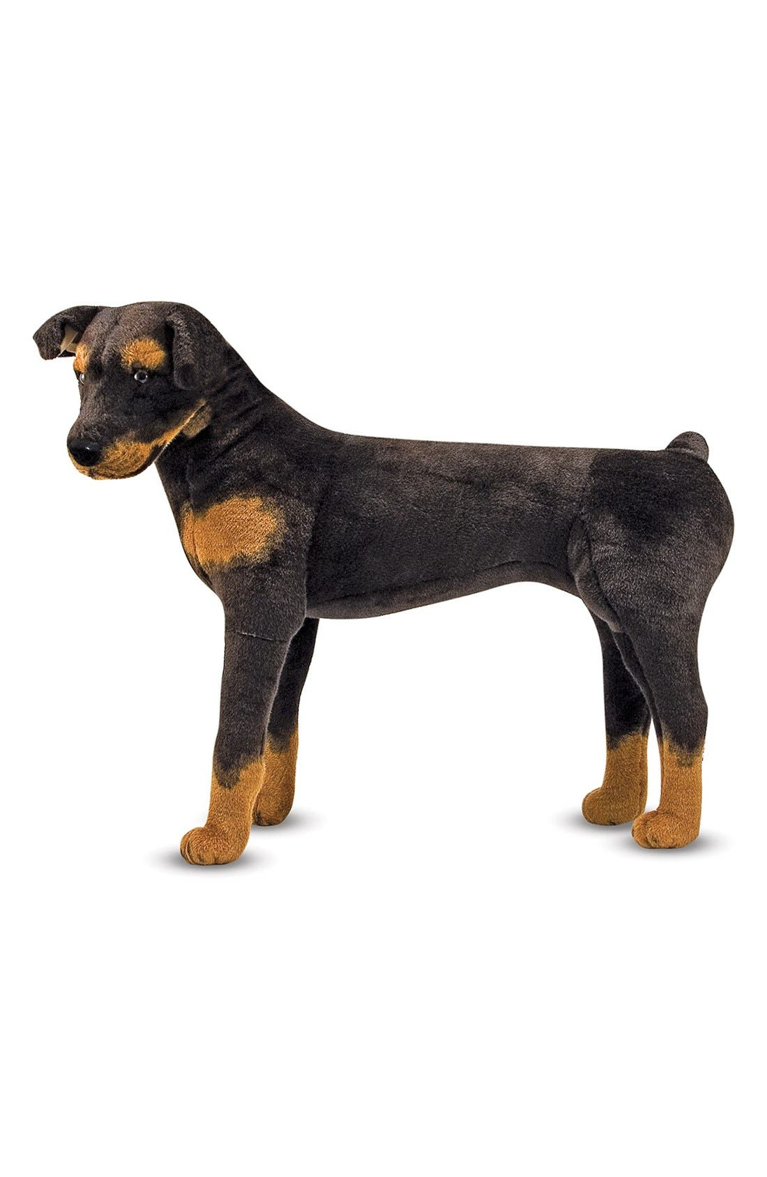 Oversized Rottweiler,                         Main,                         color, Brown