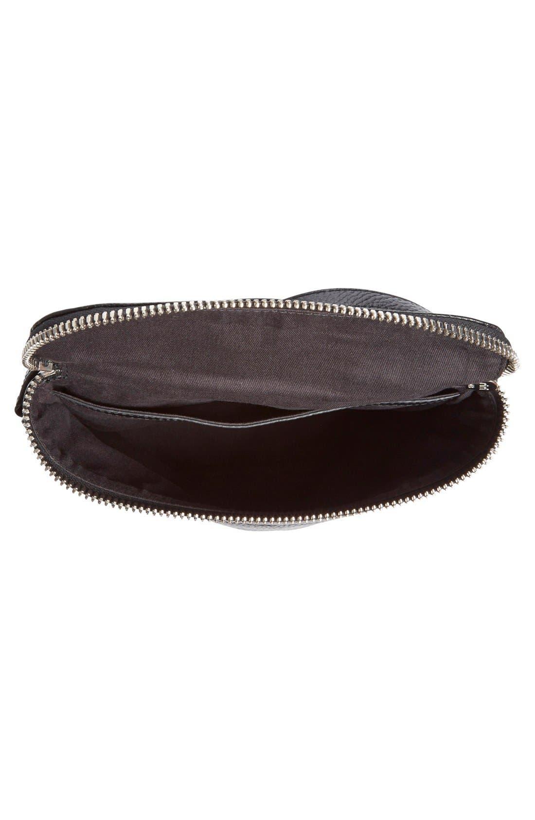 Alternate Image 4  - KARA Large Stowaway Leather Crossbody Bag