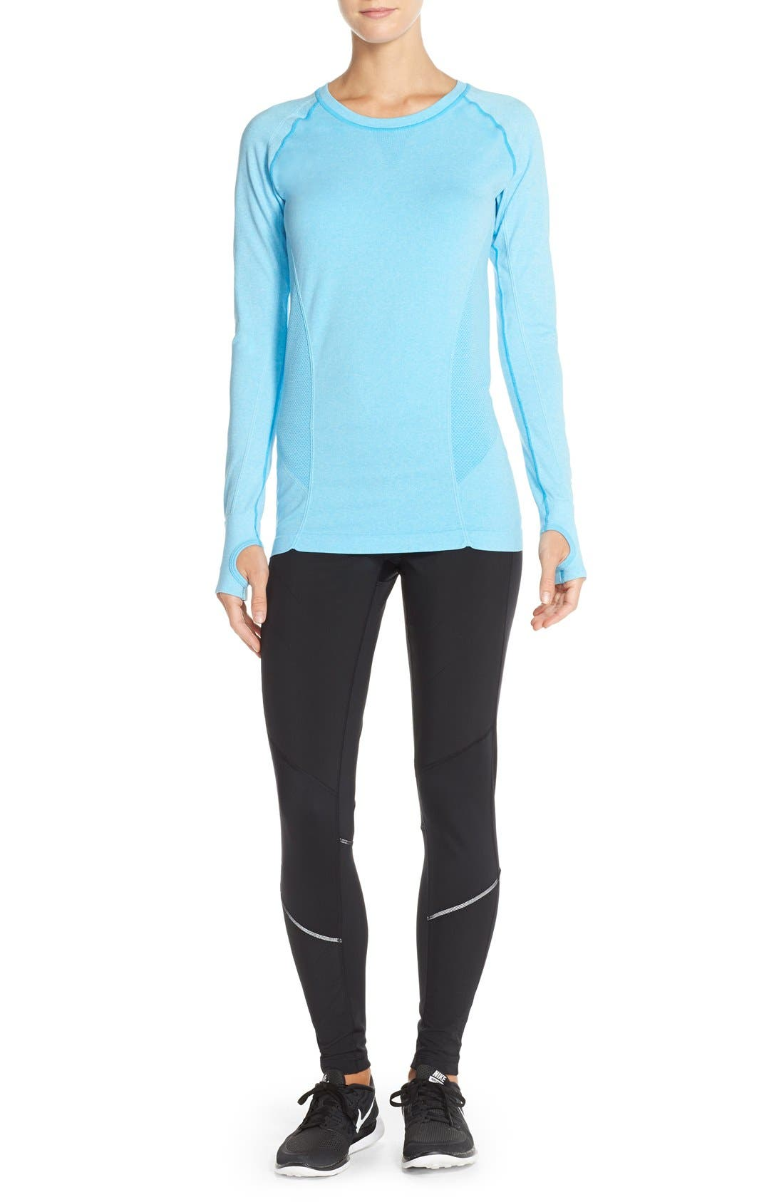 Alternate Image 4  - Zella 'Chill Out' Running Tights